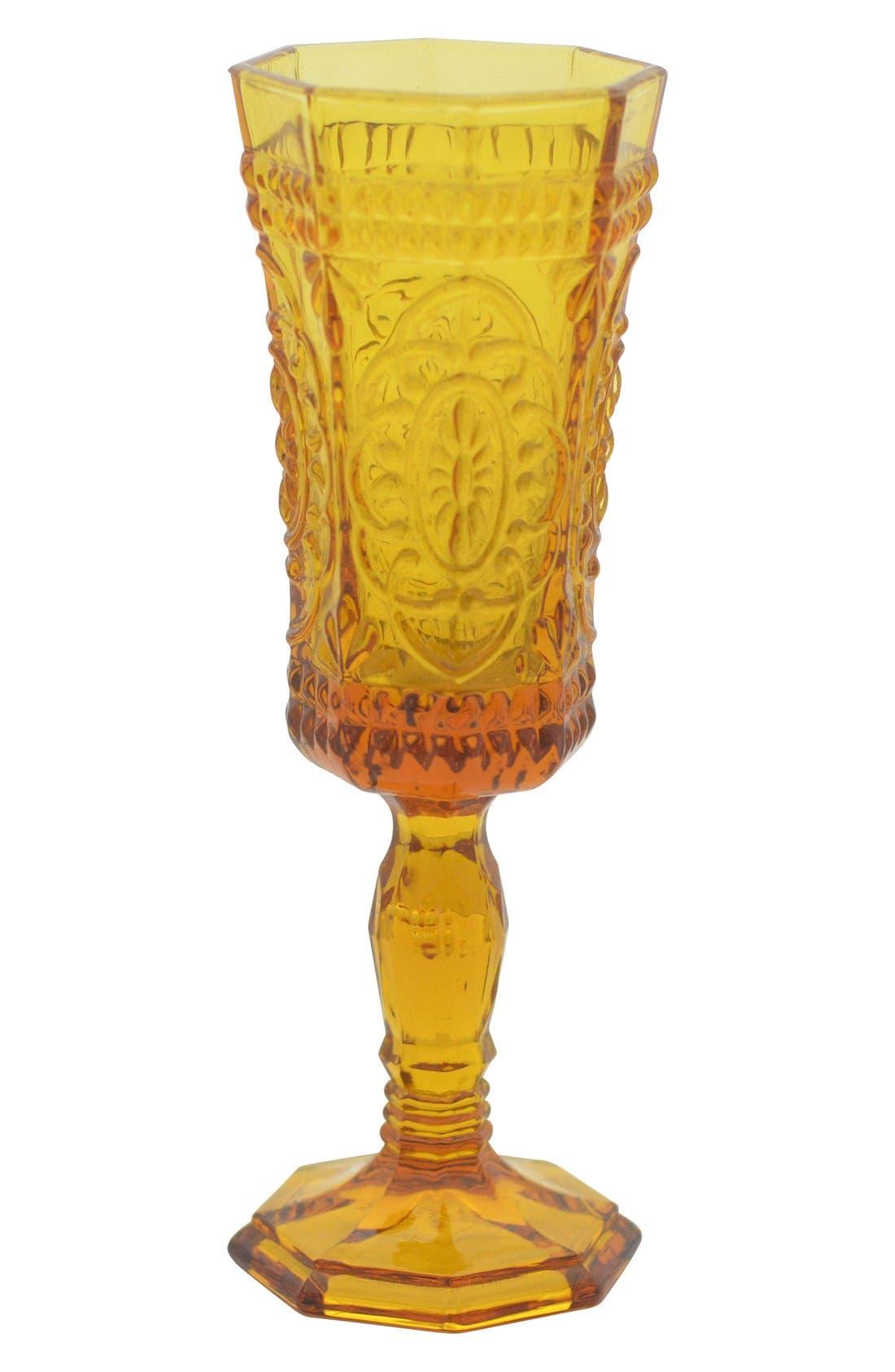 'Vatican' Glass Champagne Flutes,                             Main thumbnail 3, color,