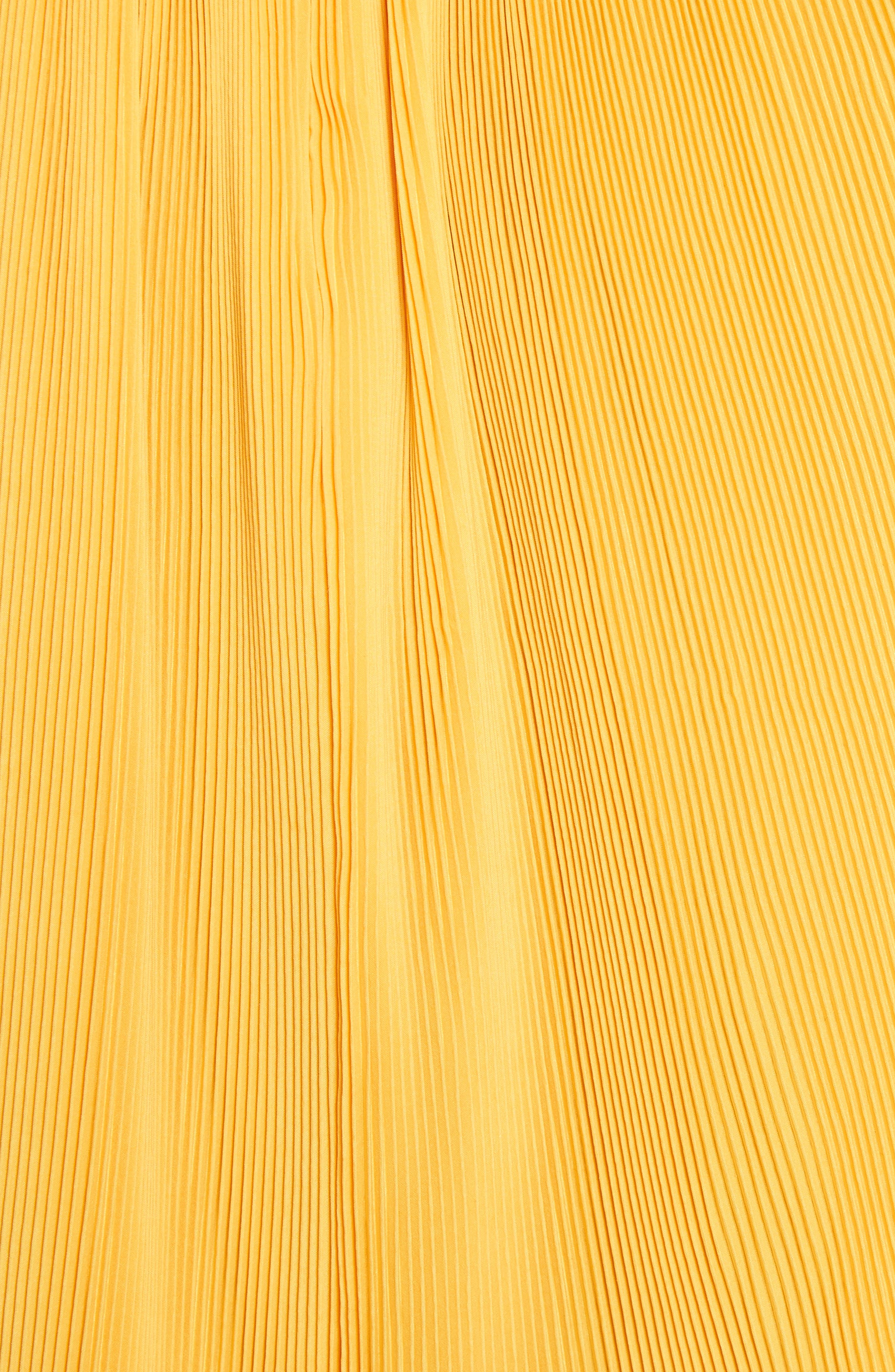 Pleated Crop Top,                             Alternate thumbnail 21, color,