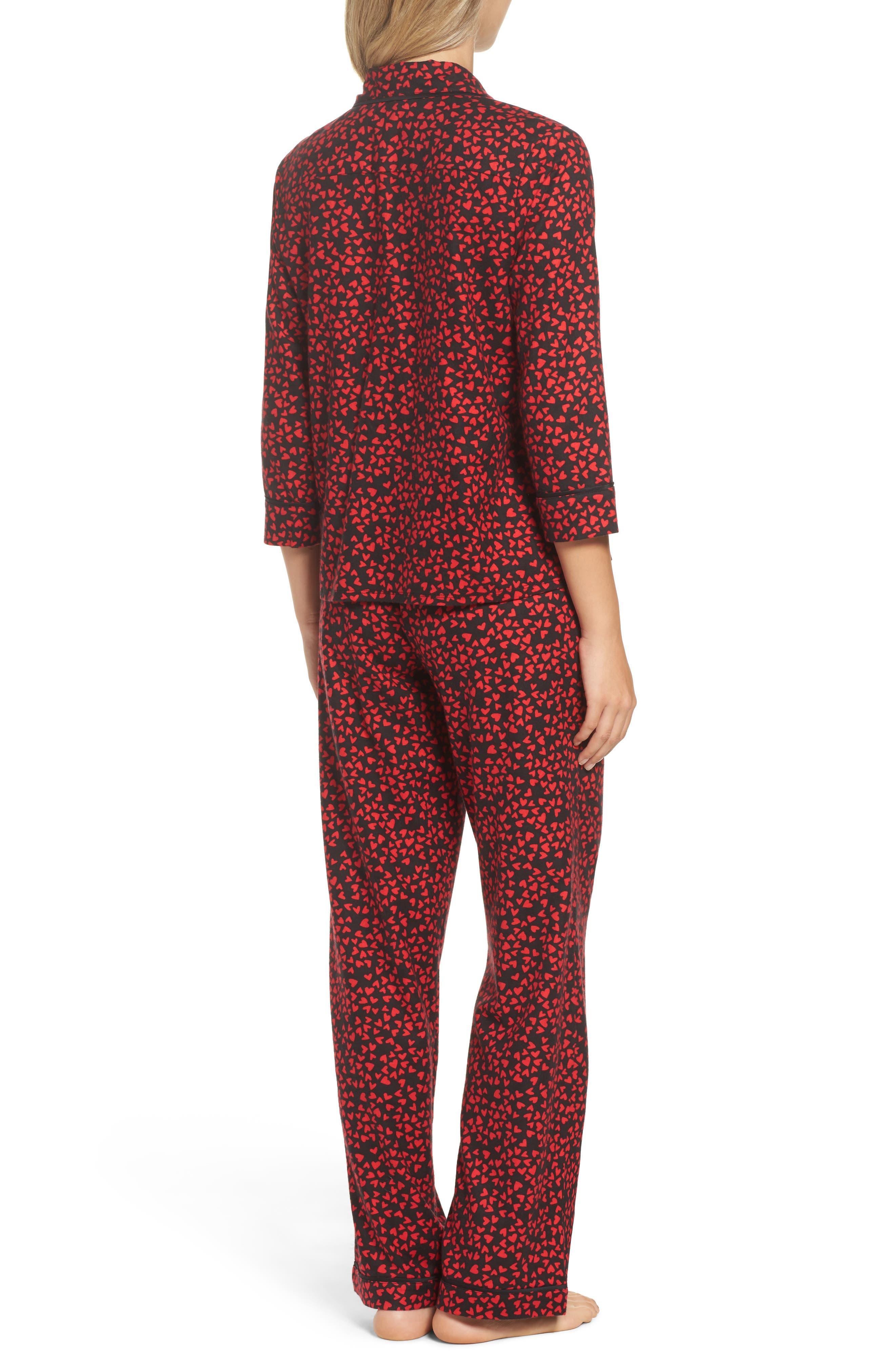 Flannel Pajamas,                             Alternate thumbnail 6, color,
