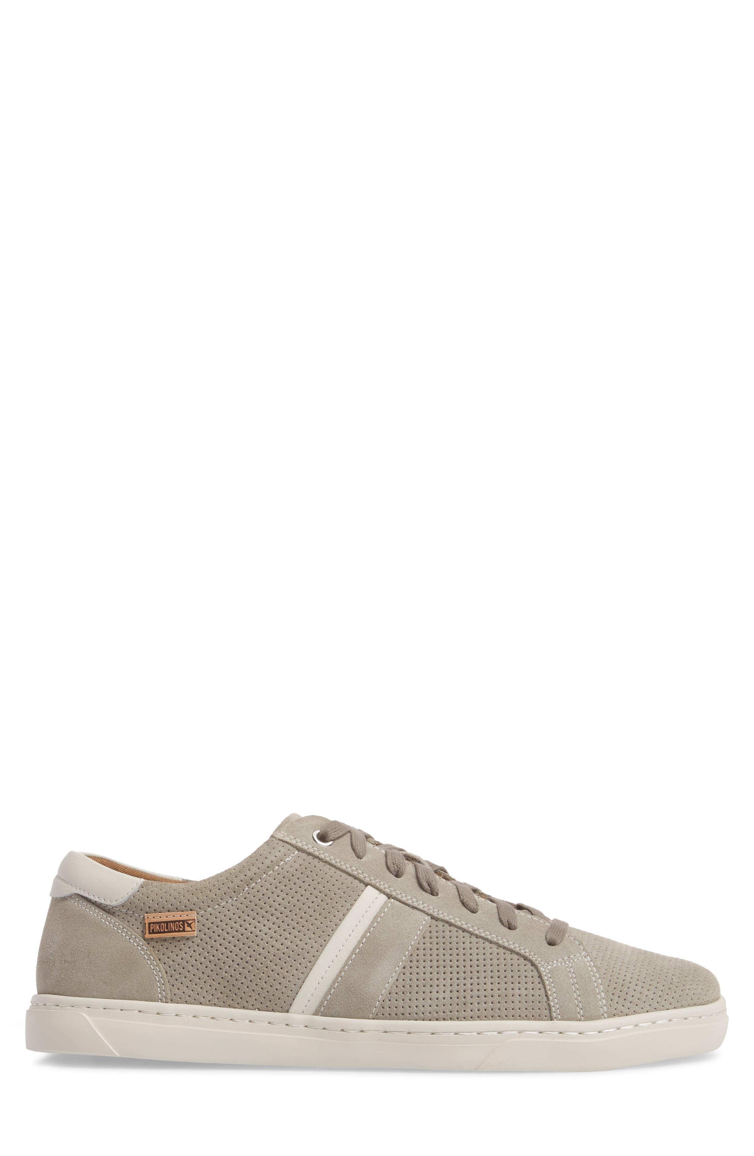 Belfort Perforated Sneaker,                             Alternate thumbnail 3, color,                             020