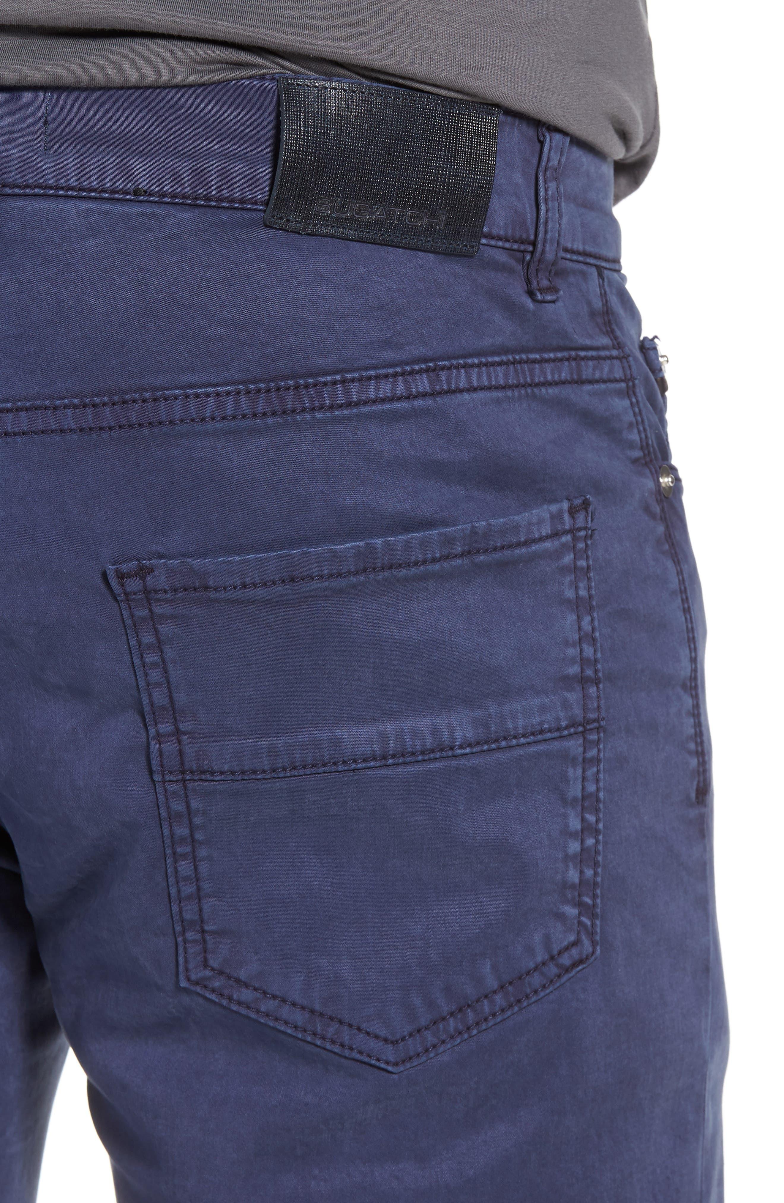 Slim Fit Washed Five-Pocket Pants,                             Alternate thumbnail 15, color,