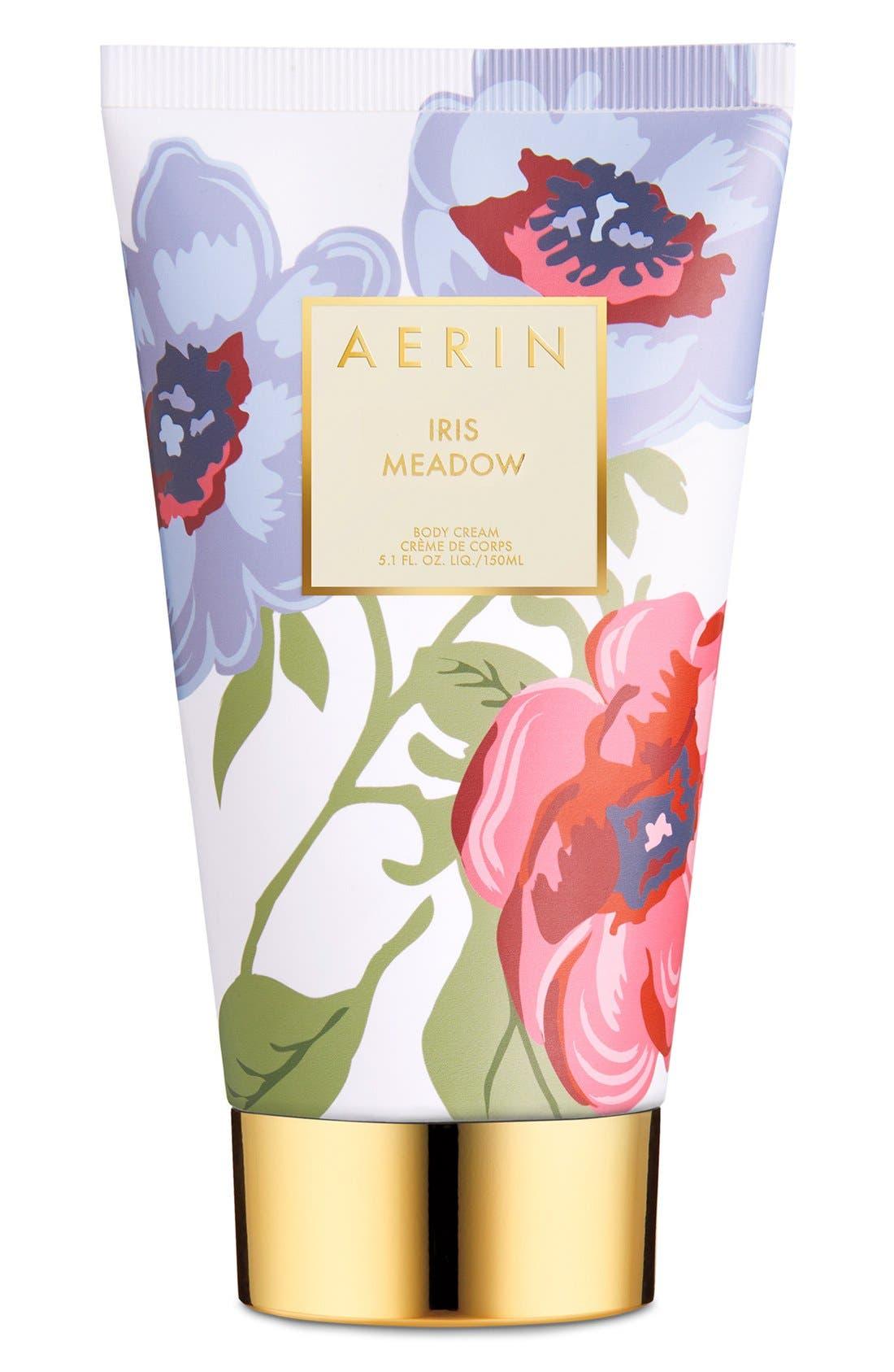 AERIN Beauty Iris Meadow Body Cream,                             Main thumbnail 1, color,