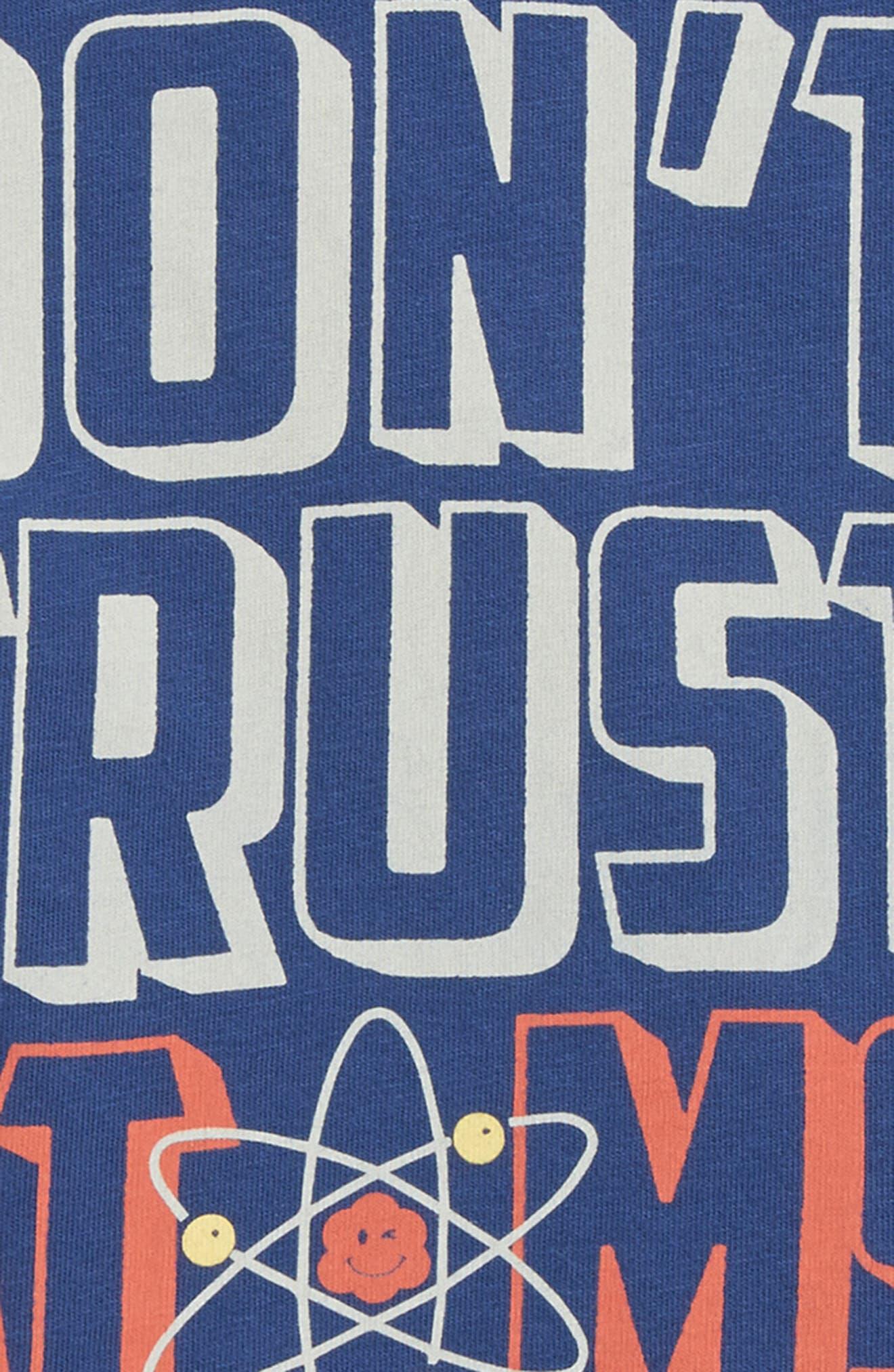 Don't Trust Atoms T-Shirt,                             Alternate thumbnail 4, color,                             400