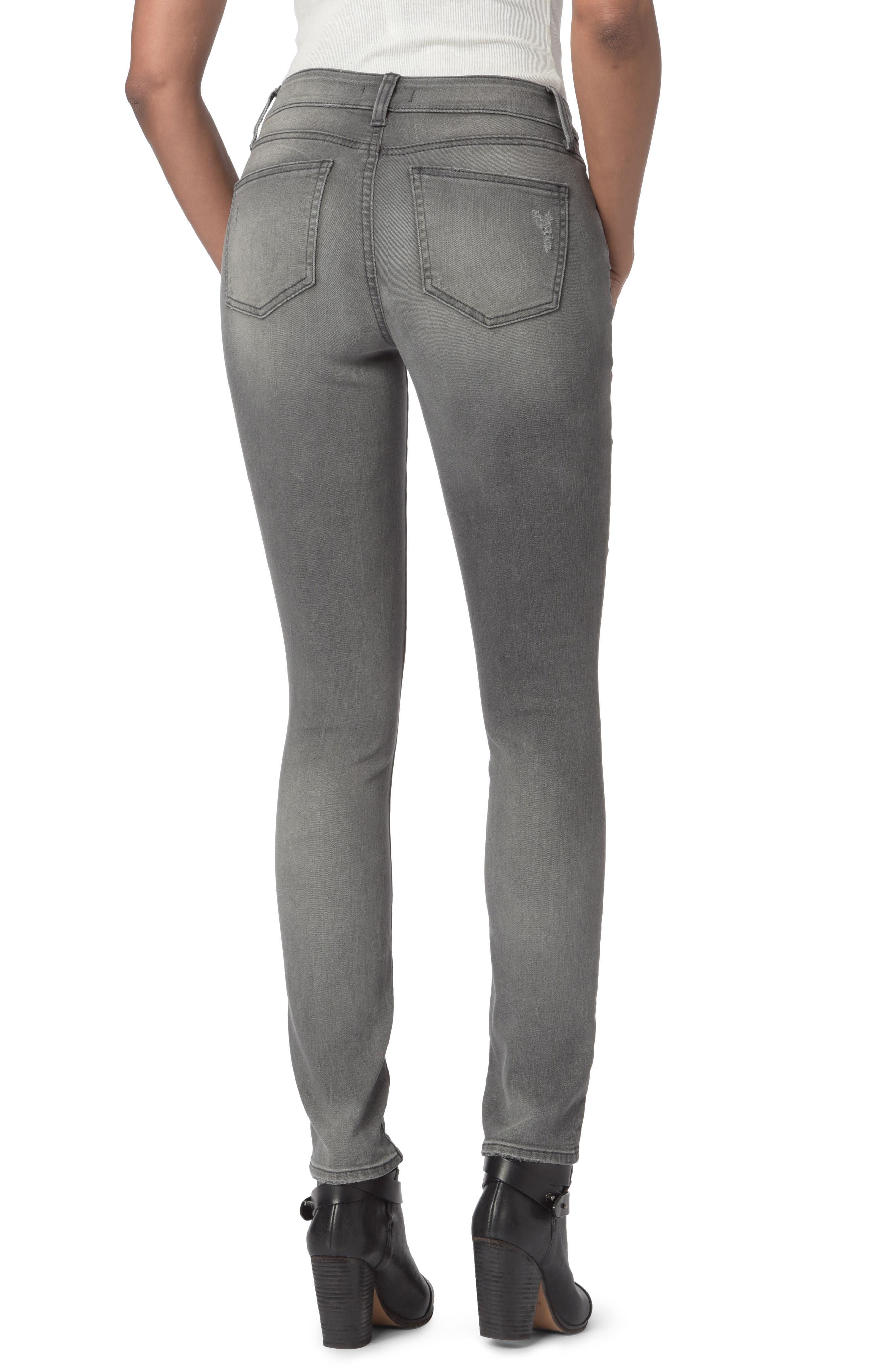 Alina Zippered Legging Jeans,                             Alternate thumbnail 2, color,                             035