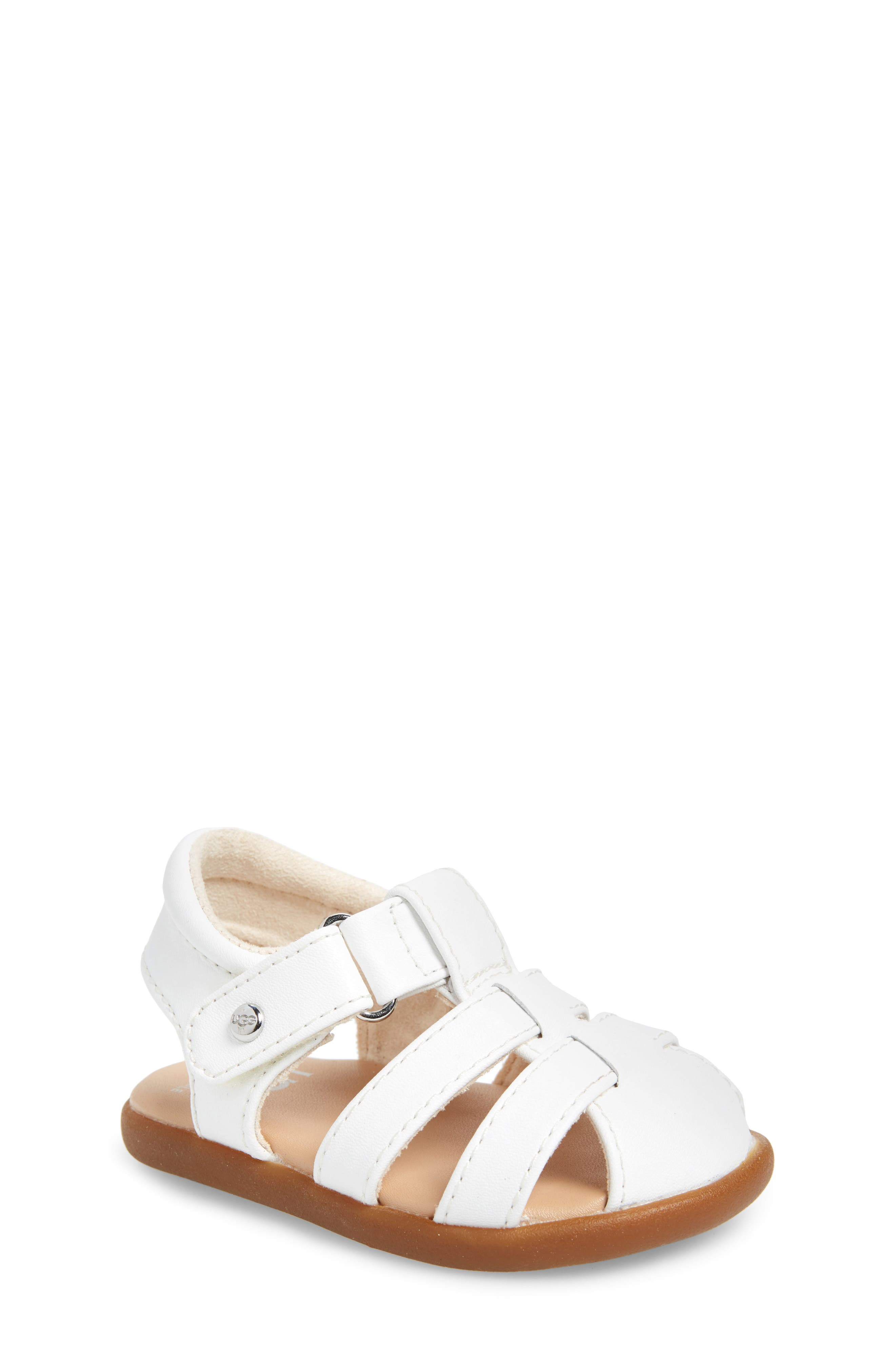 Kolding Fisherman Sandal,                         Main,                         color, WHITE