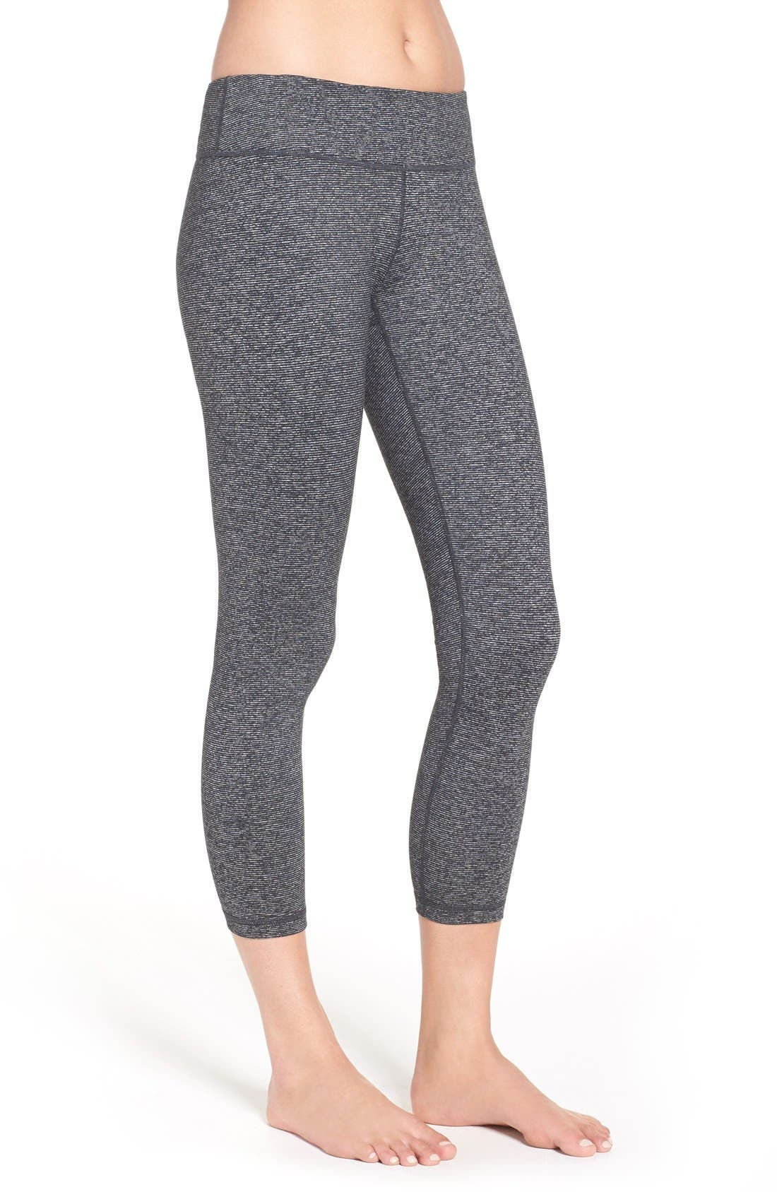 ZELLA,                             'Live In' Midi Leggings,                             Alternate thumbnail 2, color,                             002