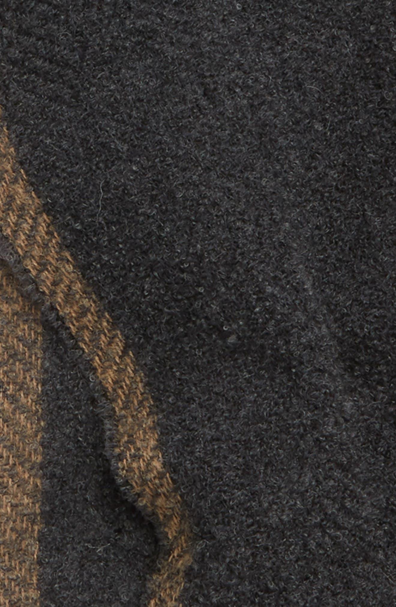 Wool Bouclé Scarf,                             Alternate thumbnail 3, color,                             030
