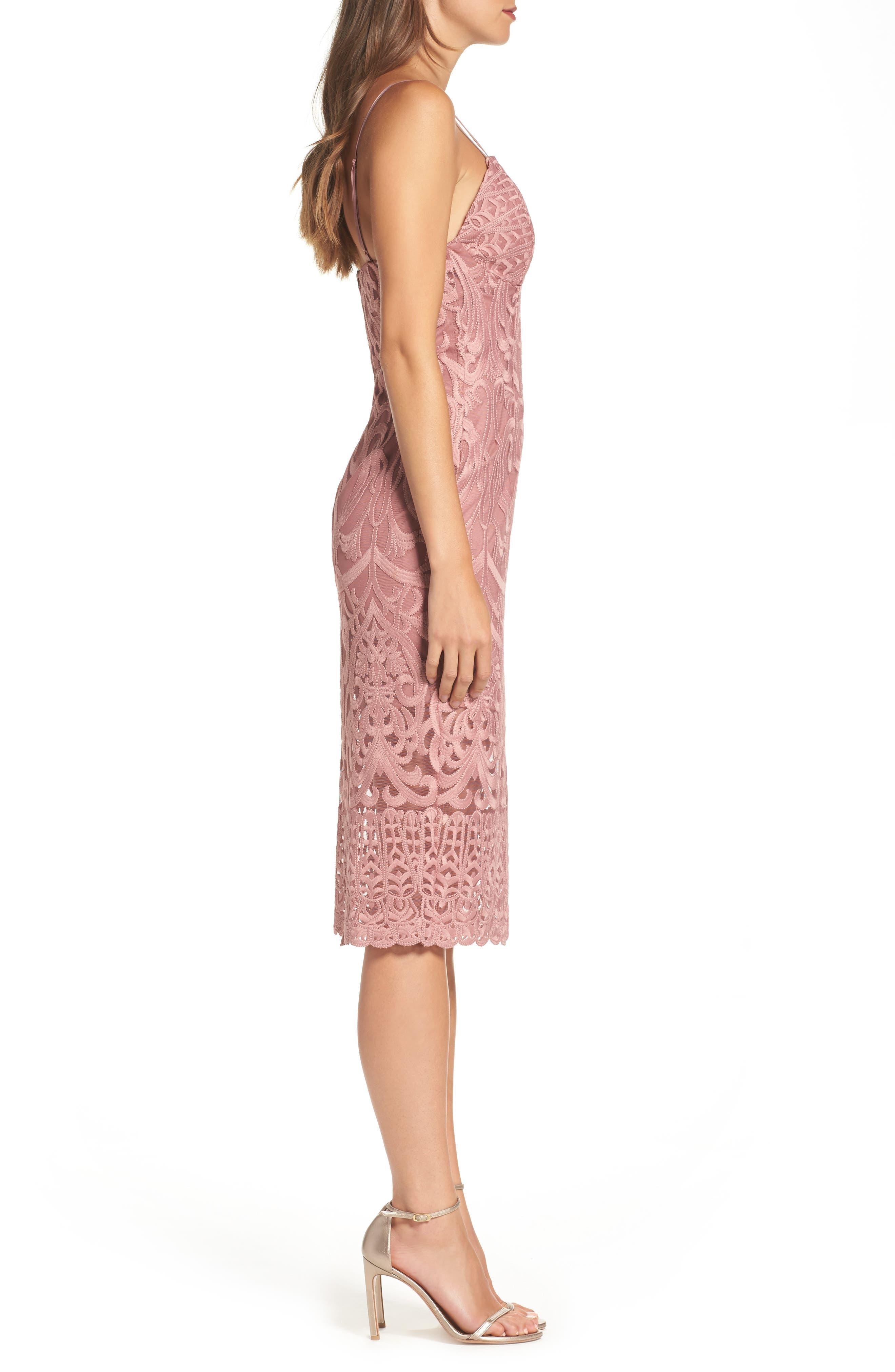Gia Lace Pencil Dress,                             Alternate thumbnail 23, color,