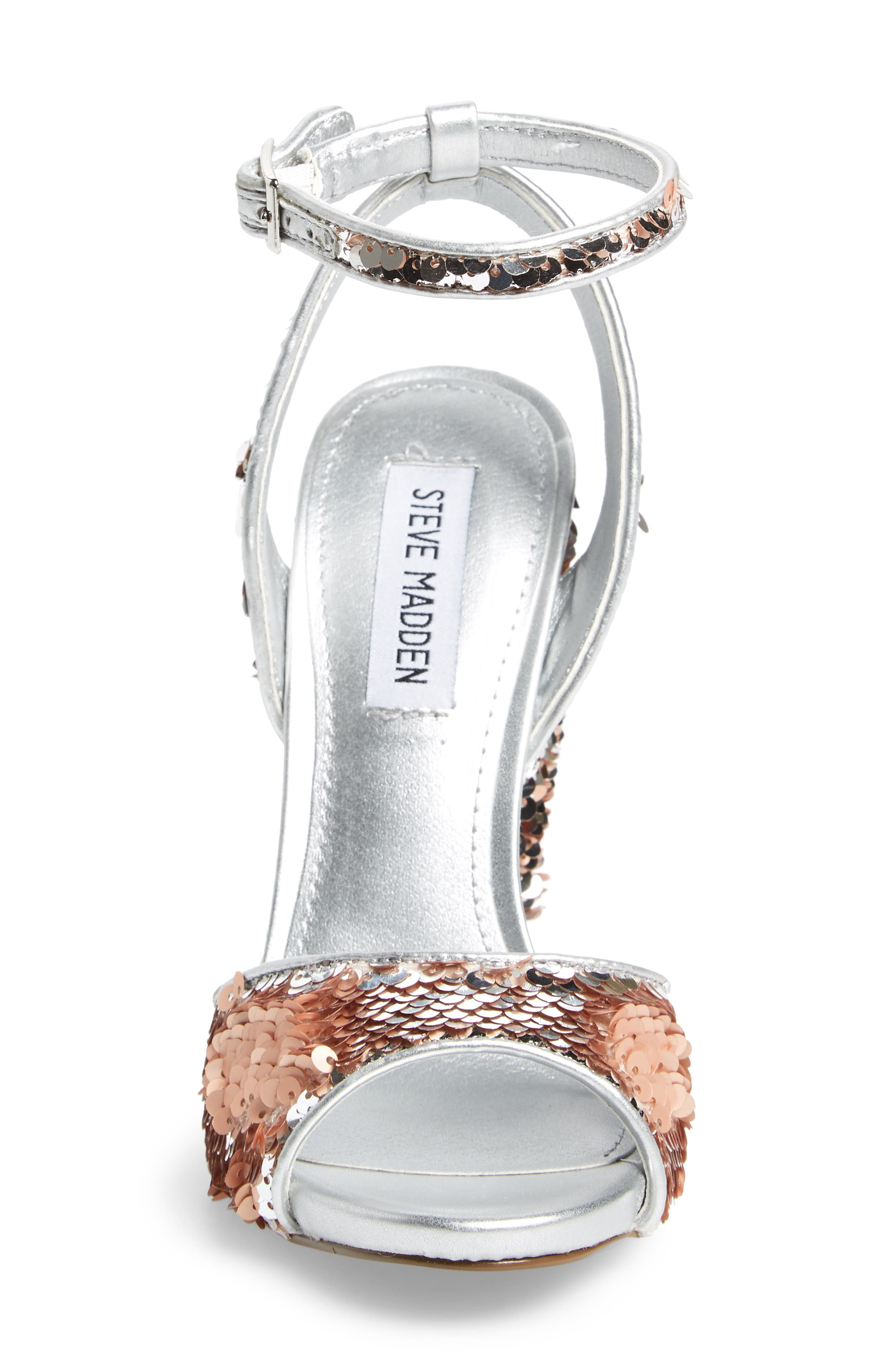 Ritzy Flip Sequin Sandal,                             Alternate thumbnail 4, color,                             040