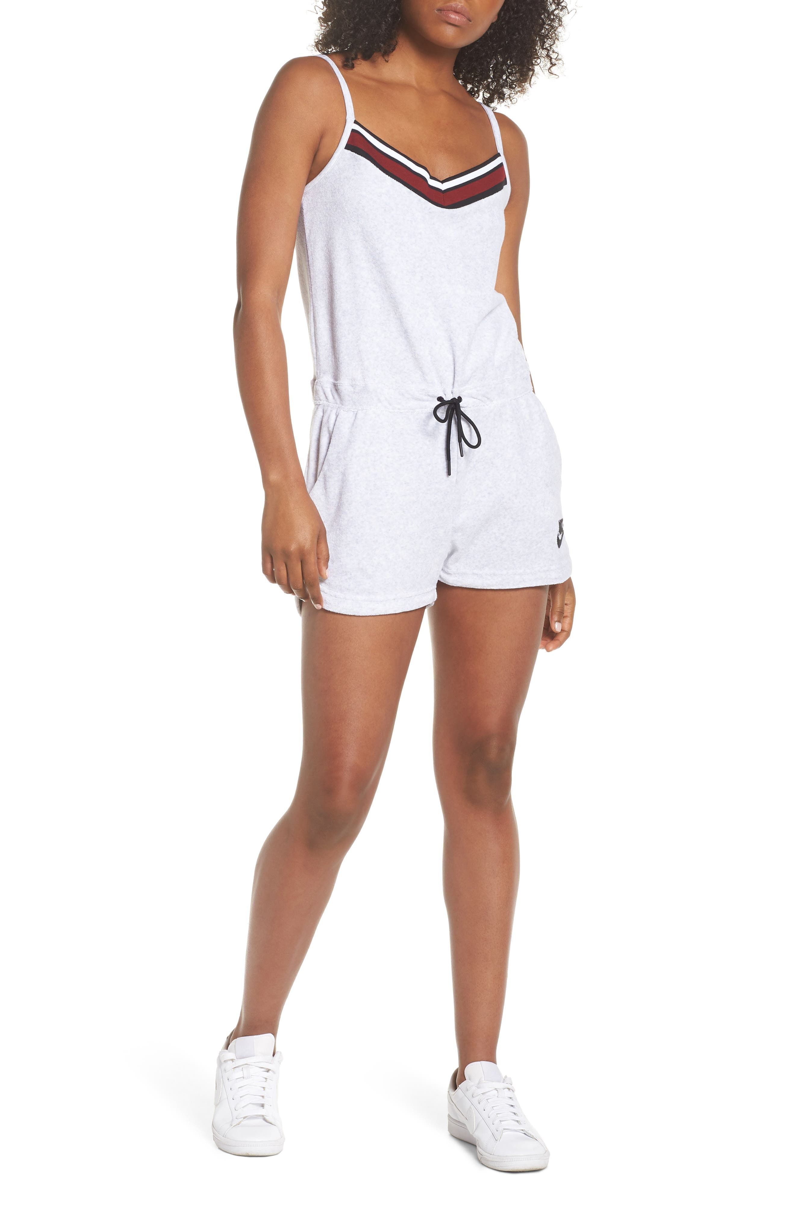 Sportswear Terry Romper,                             Main thumbnail 3, color,
