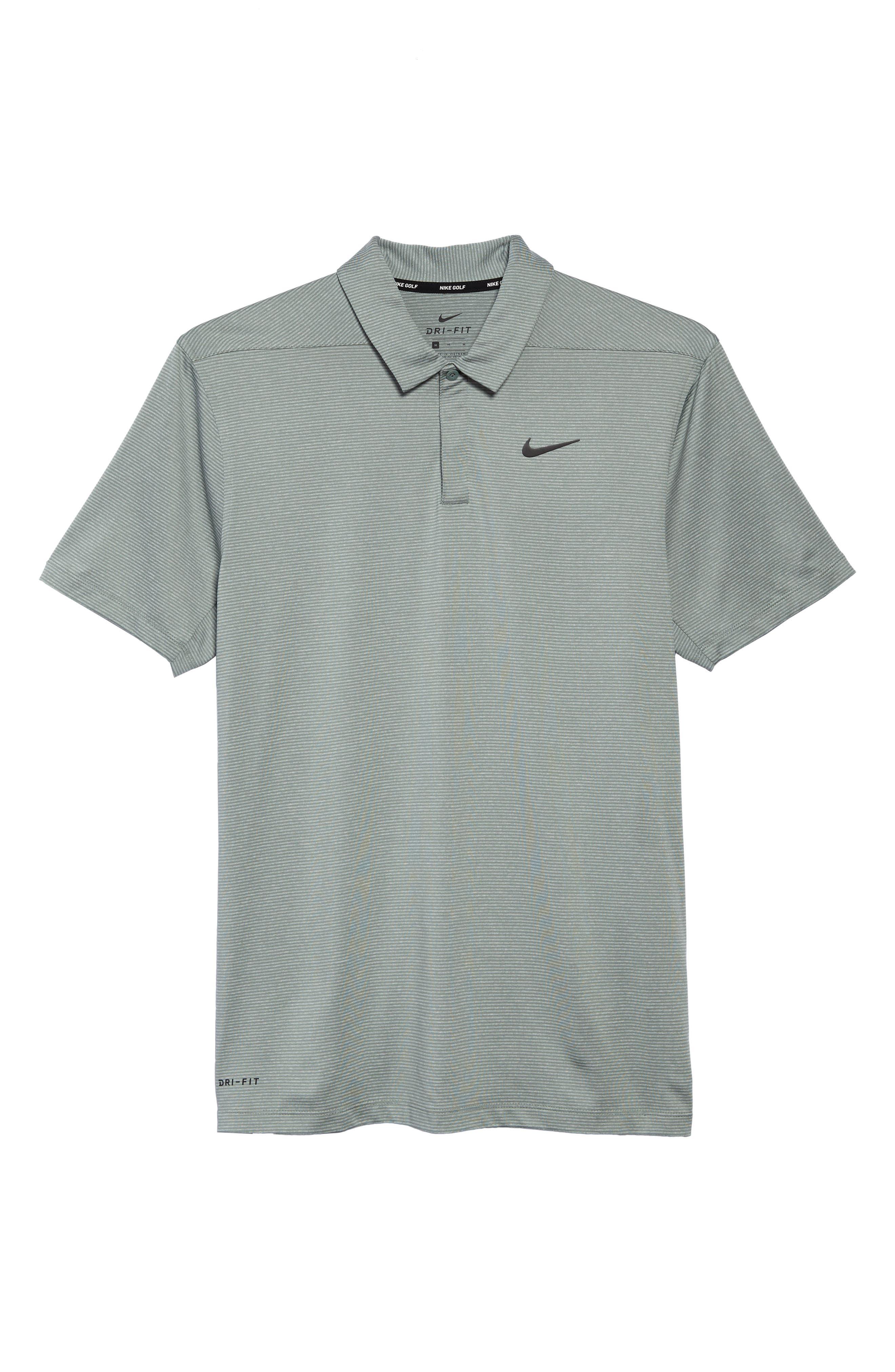 Dry Polo Shirt,                             Alternate thumbnail 6, color,                             CLAY GREEN/ BLACK