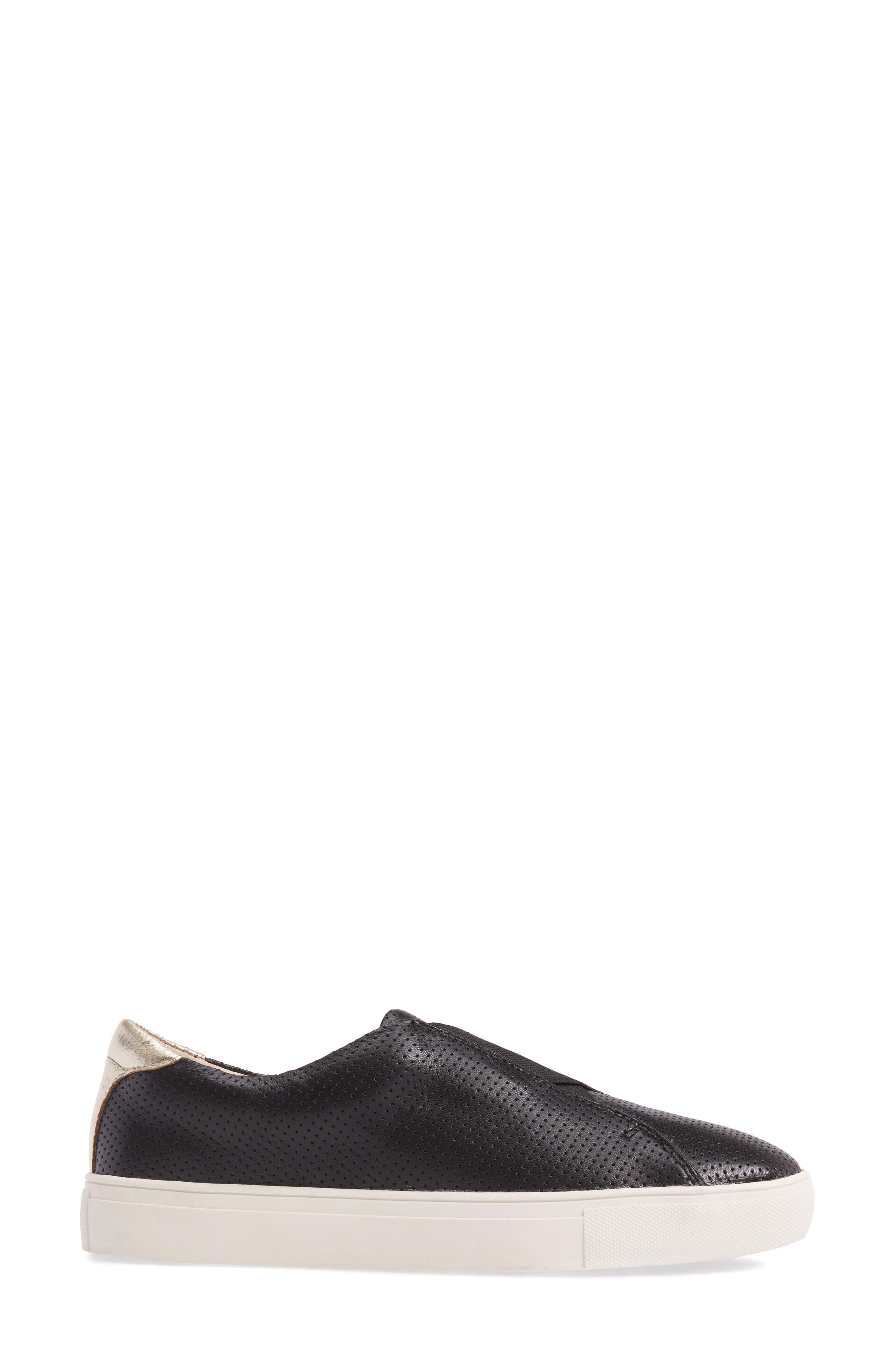 Sudina Giana Slip-On Sneaker,                             Alternate thumbnail 3, color,                             001