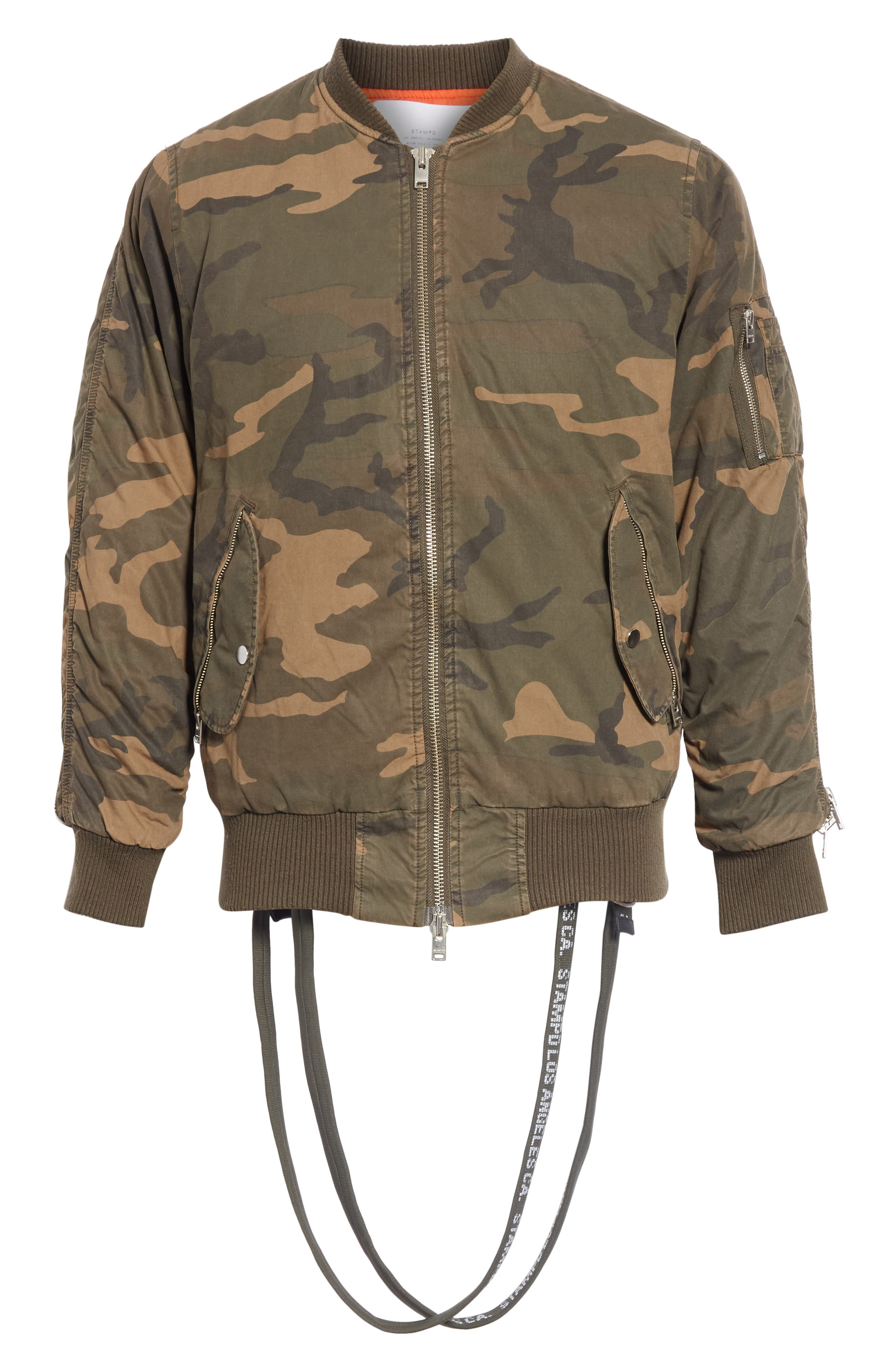Convoy Strap Bomber Jacket,                             Alternate thumbnail 5, color,                             310
