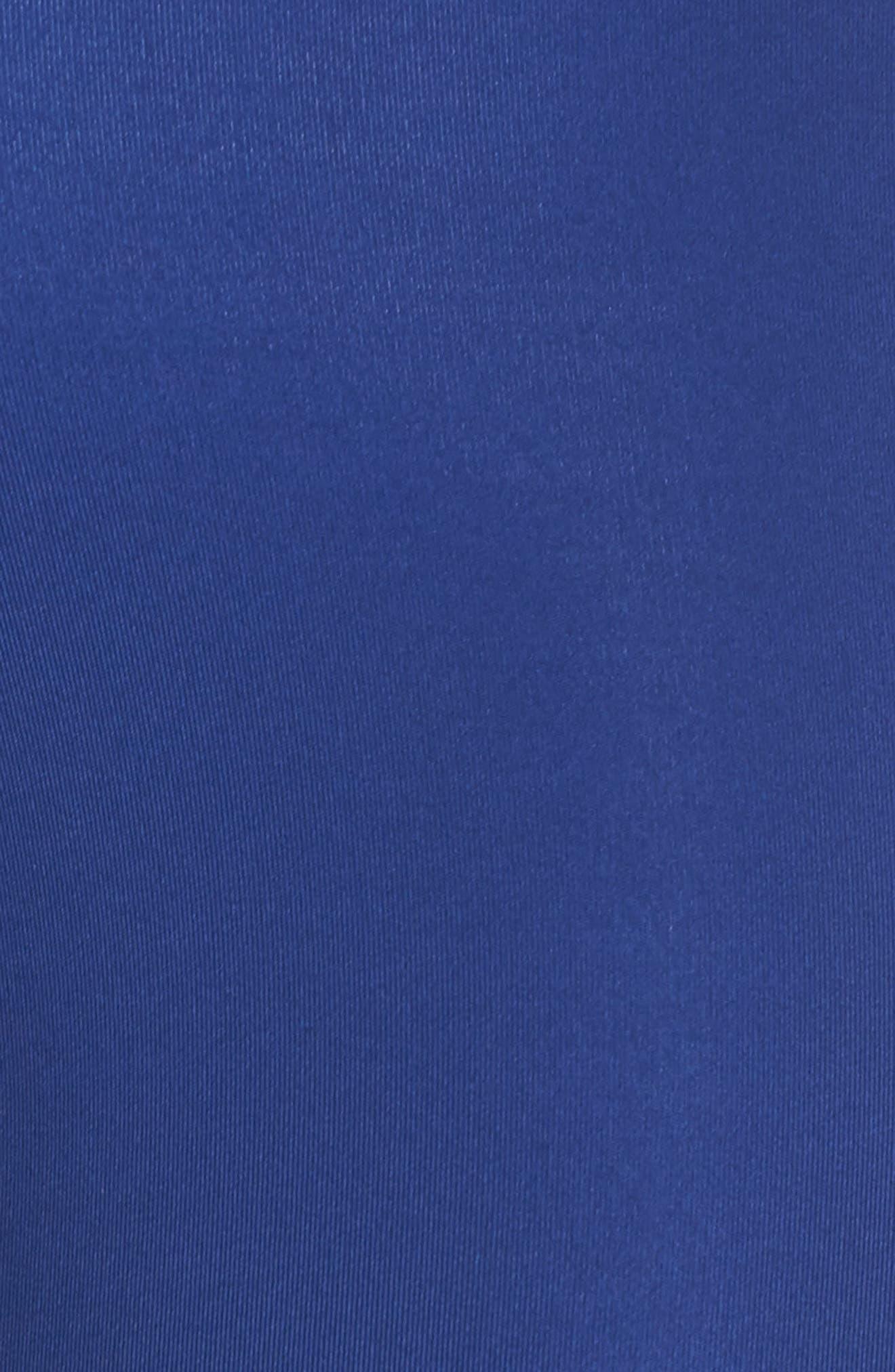 Logo Tape Leggings,                             Alternate thumbnail 6, color,                             SODALITE BLUE