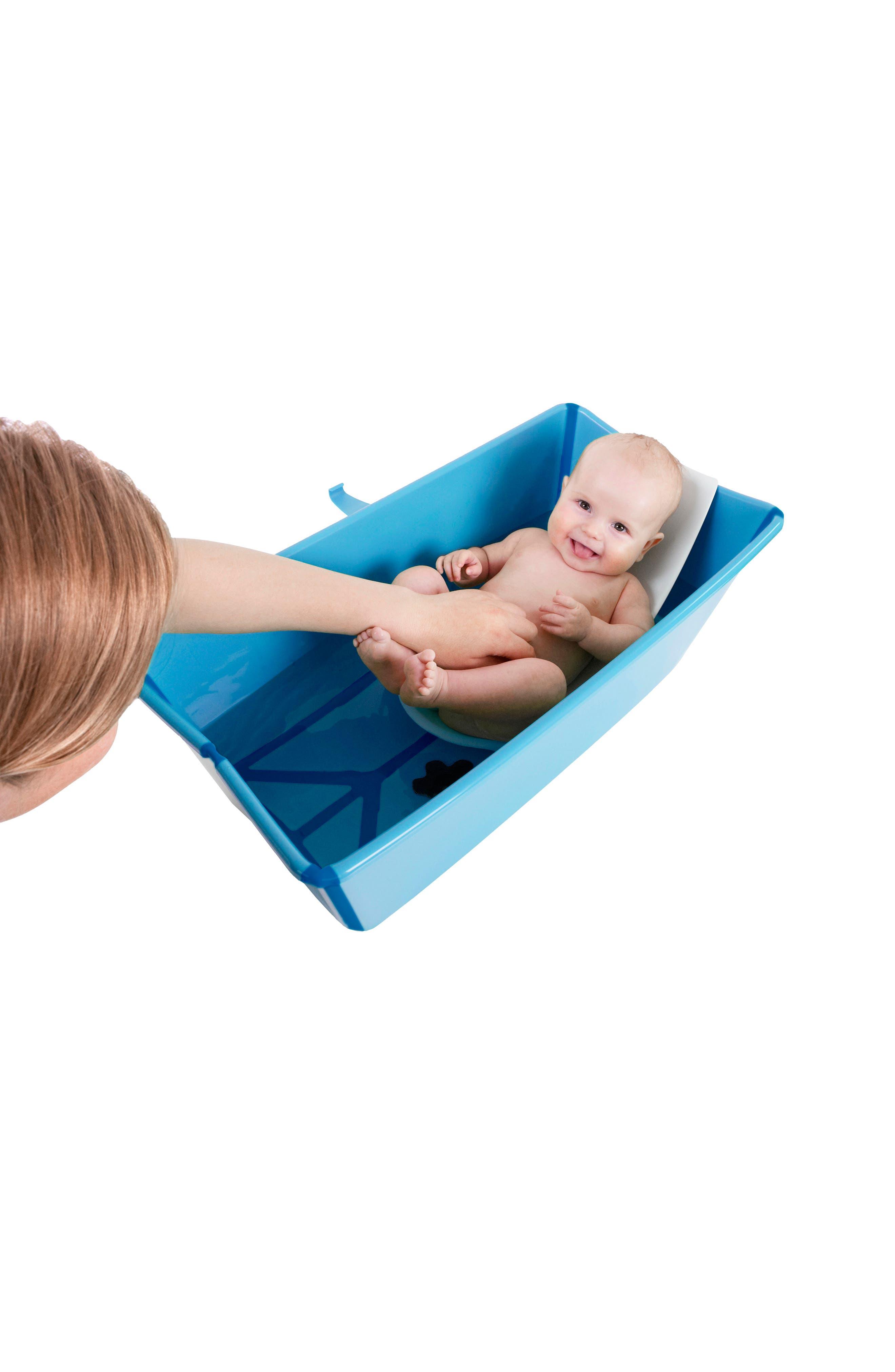'Flexi Bath<sup>®</sup>' Newborn Support,                             Alternate thumbnail 3, color,                             WHITE