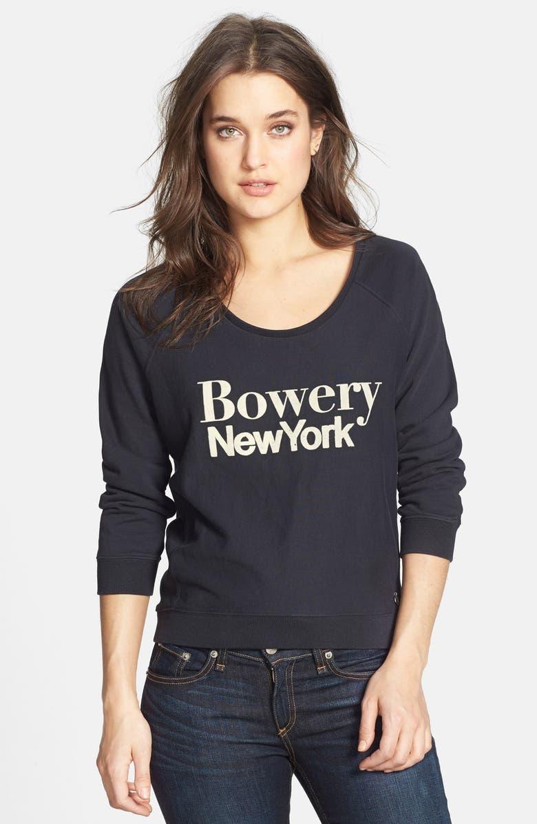 Maison Scotch \'Bowery New York\' Sweatshirt | Nordstrom