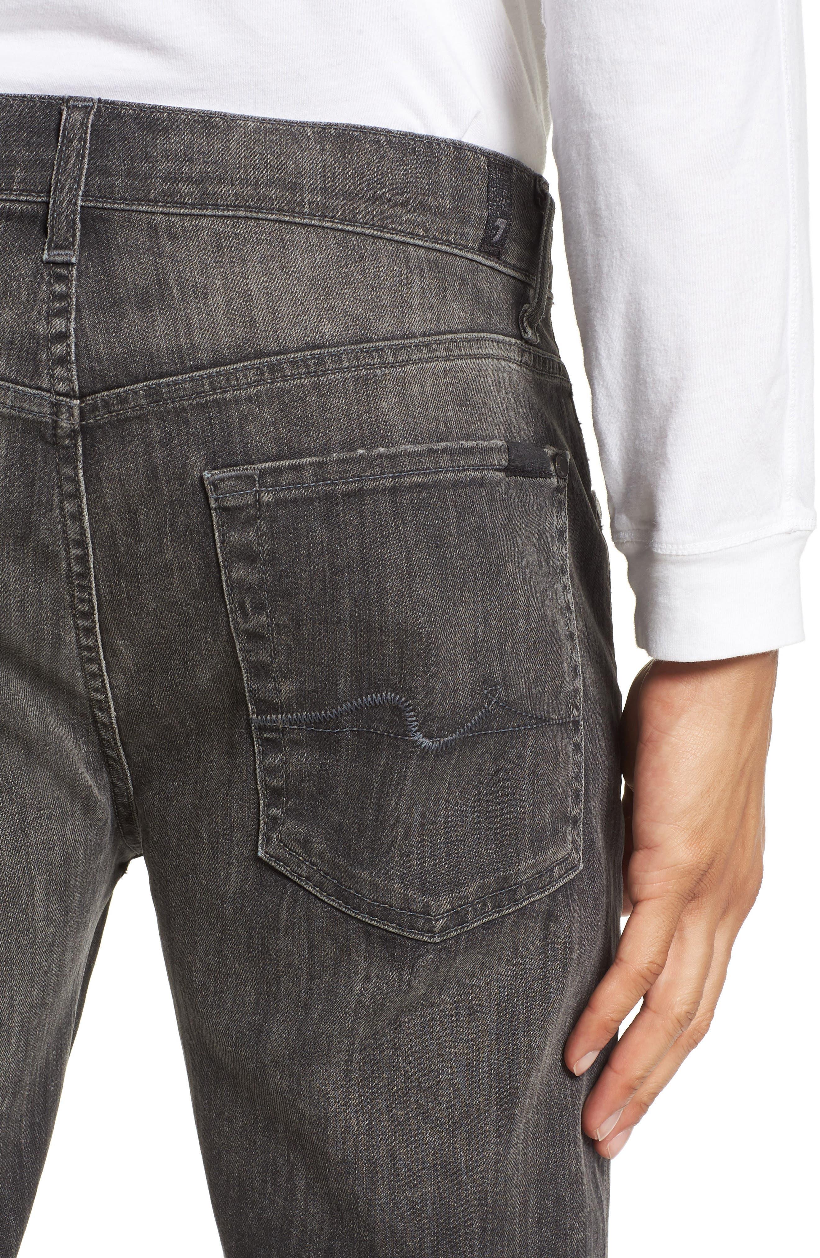The Straight Slim Straight Leg Jeans,                             Alternate thumbnail 8, color,