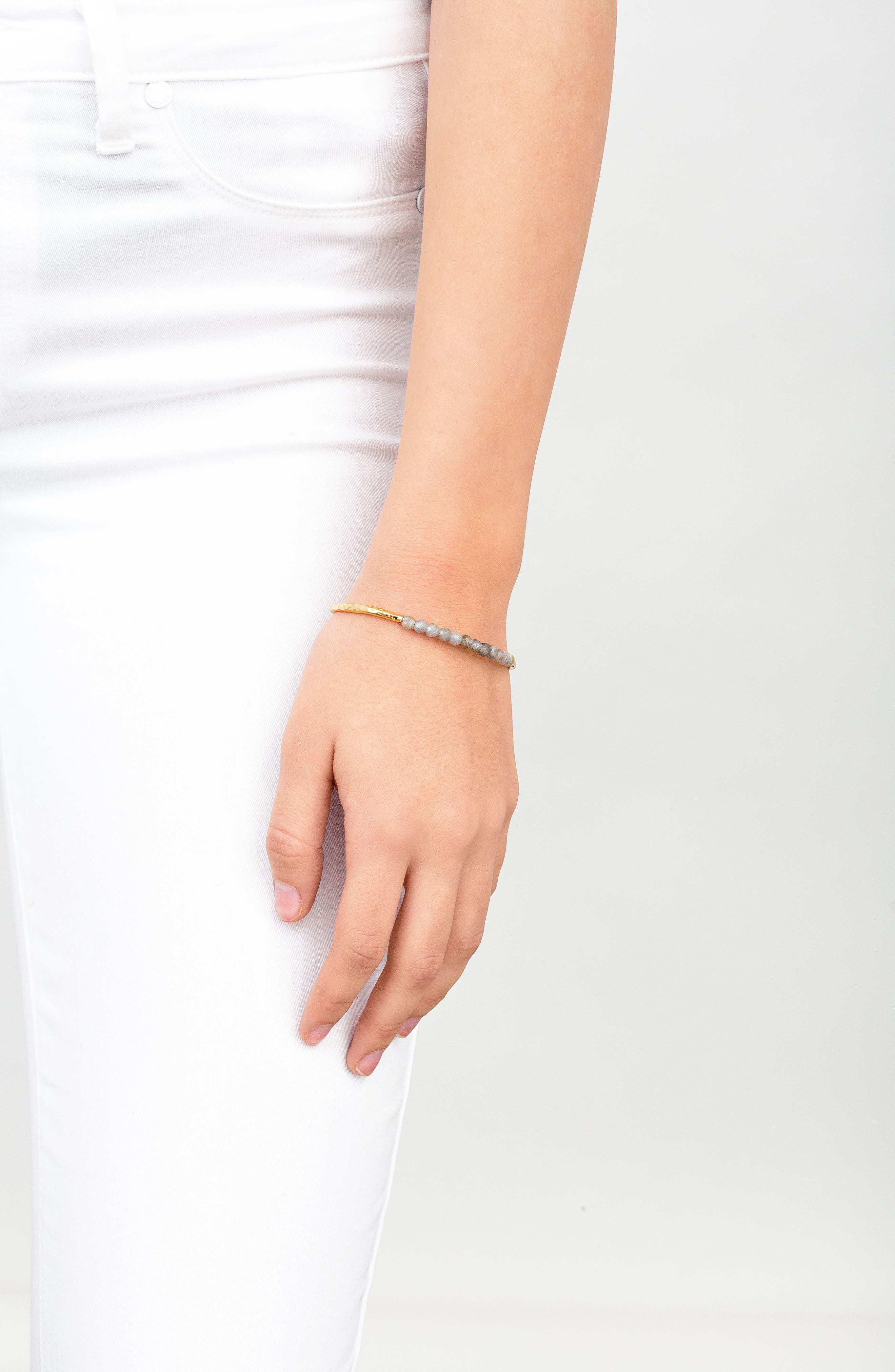 Power Stone Semiprecious Beaded Bracelet,                             Alternate thumbnail 24, color,