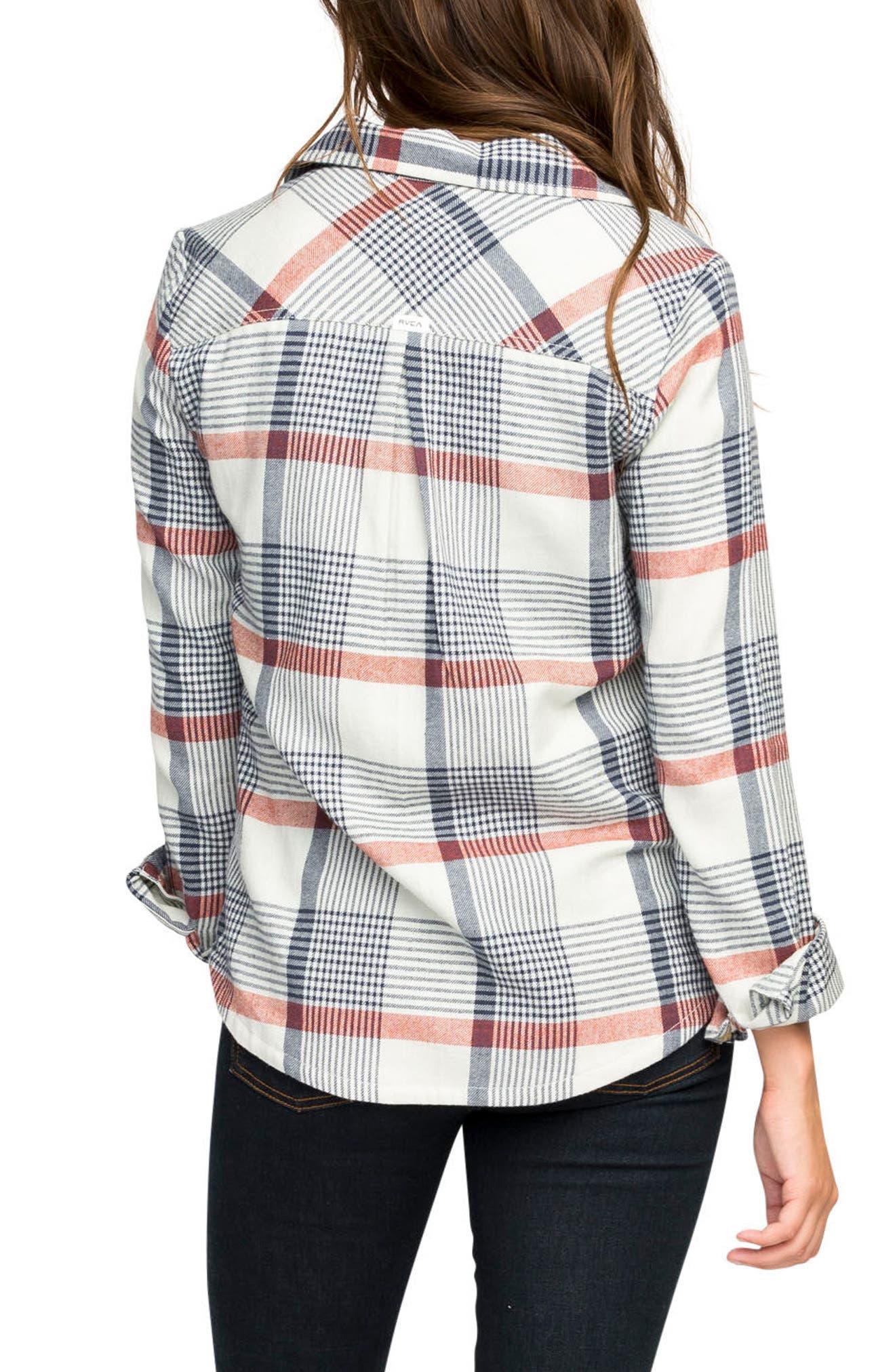 Plaid Flannel Shirt,                             Alternate thumbnail 9, color,