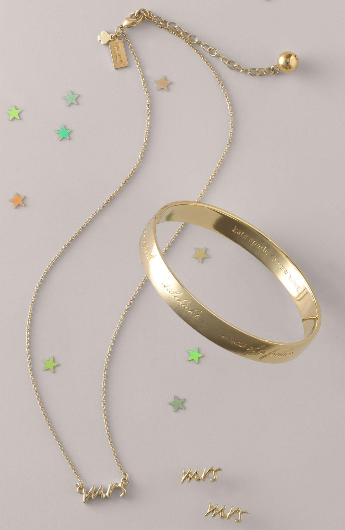 'say yes - mrs' stud earrings,                             Alternate thumbnail 3, color,                             040