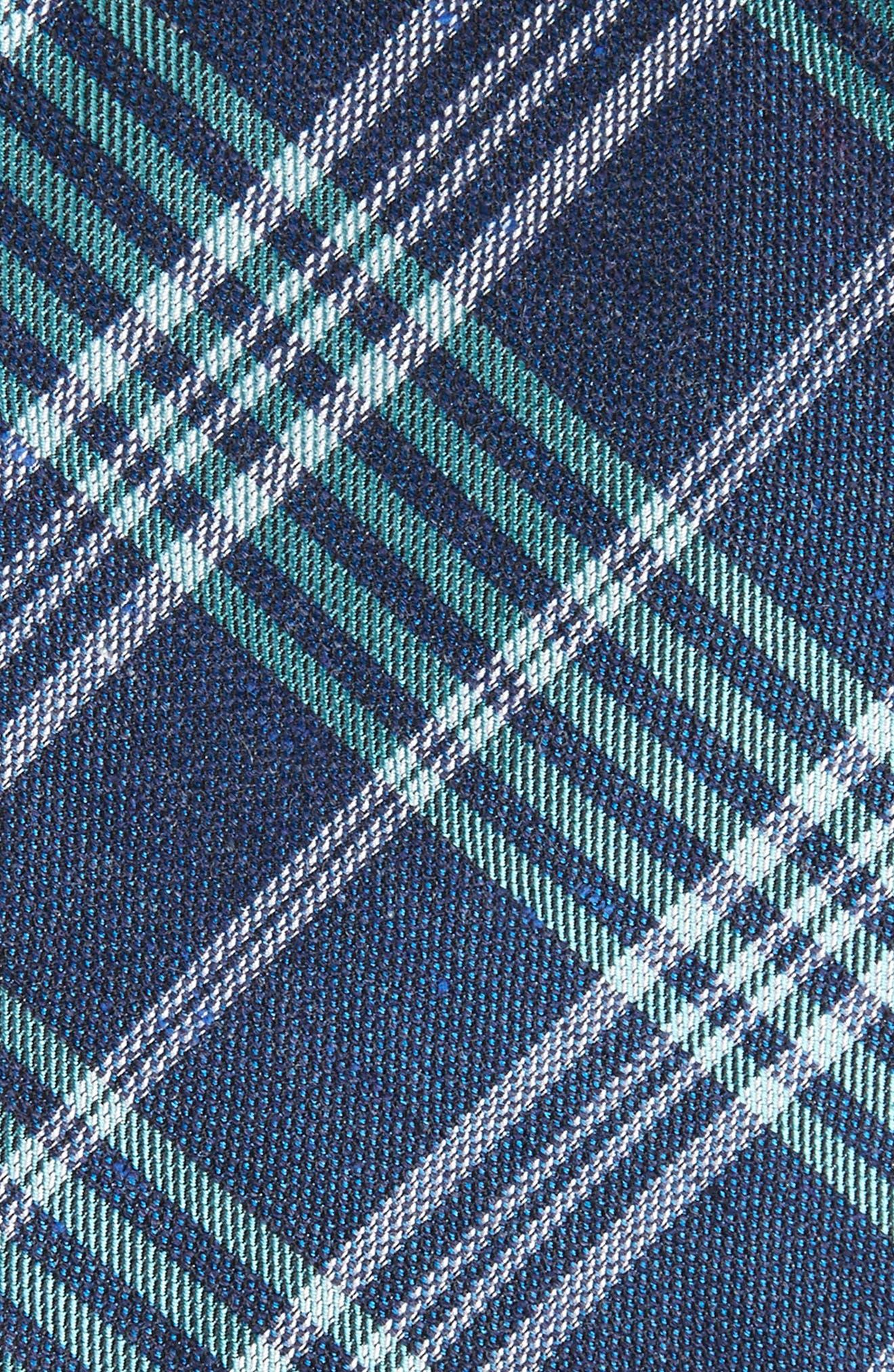 School Plaid Silk & Cotton Tie,                             Alternate thumbnail 2, color,                             300