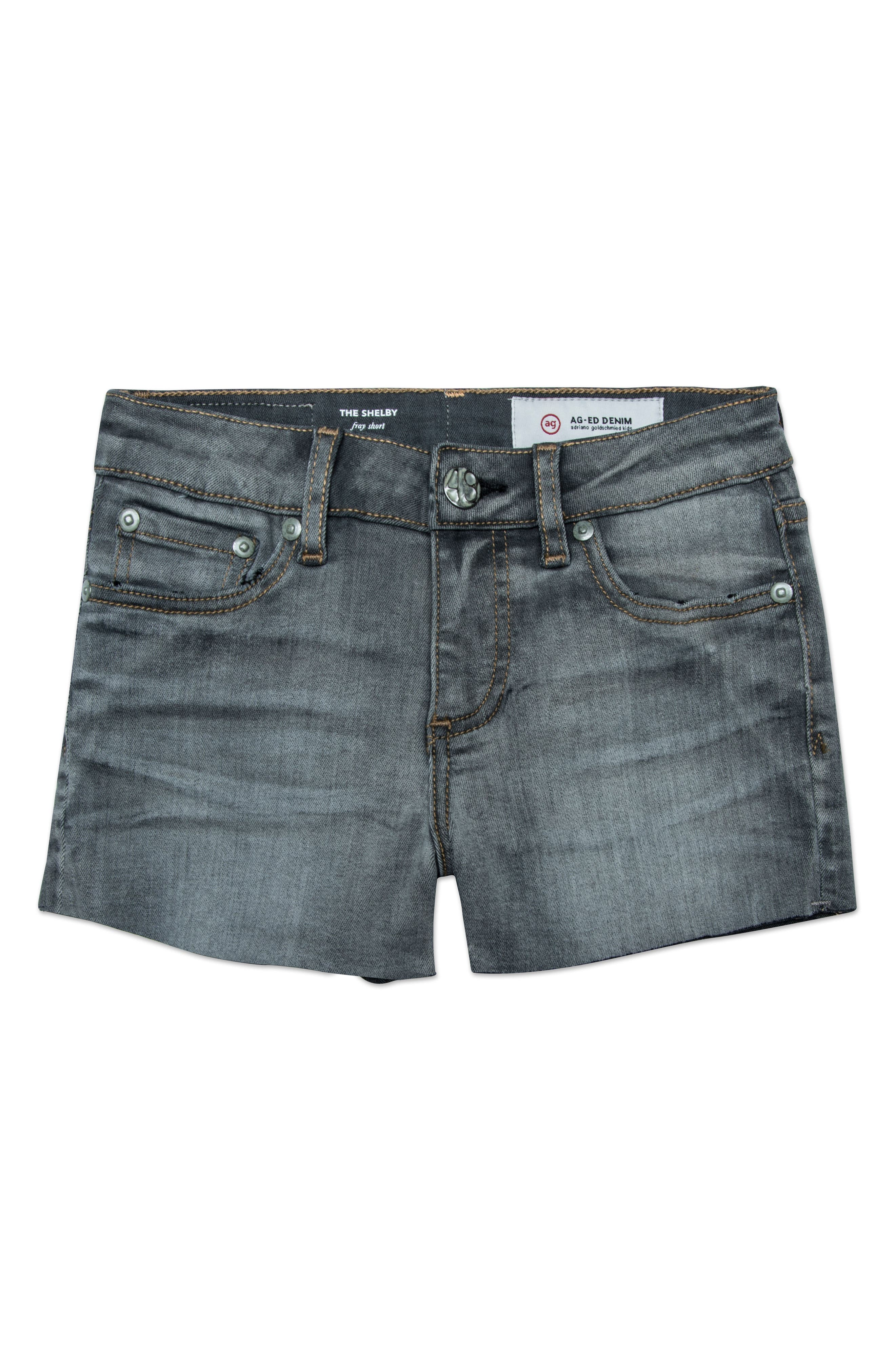 The Shelby Cutoff Shorts,                         Main,                         color, GRAPHITE