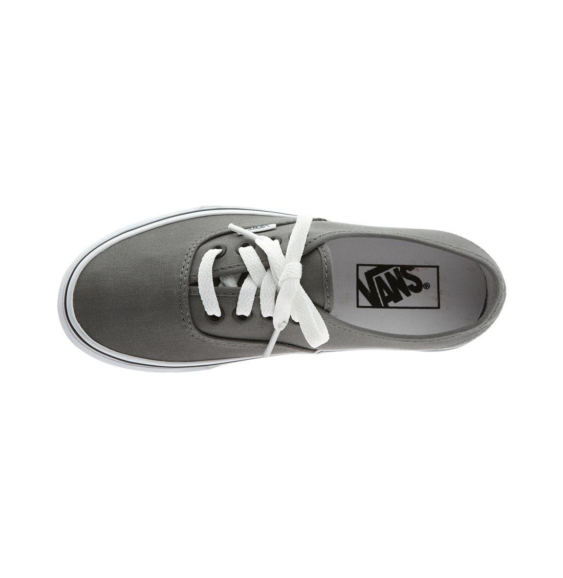 'Authentic' Sneaker,                             Alternate thumbnail 8, color,                             PEWTER/BLACK