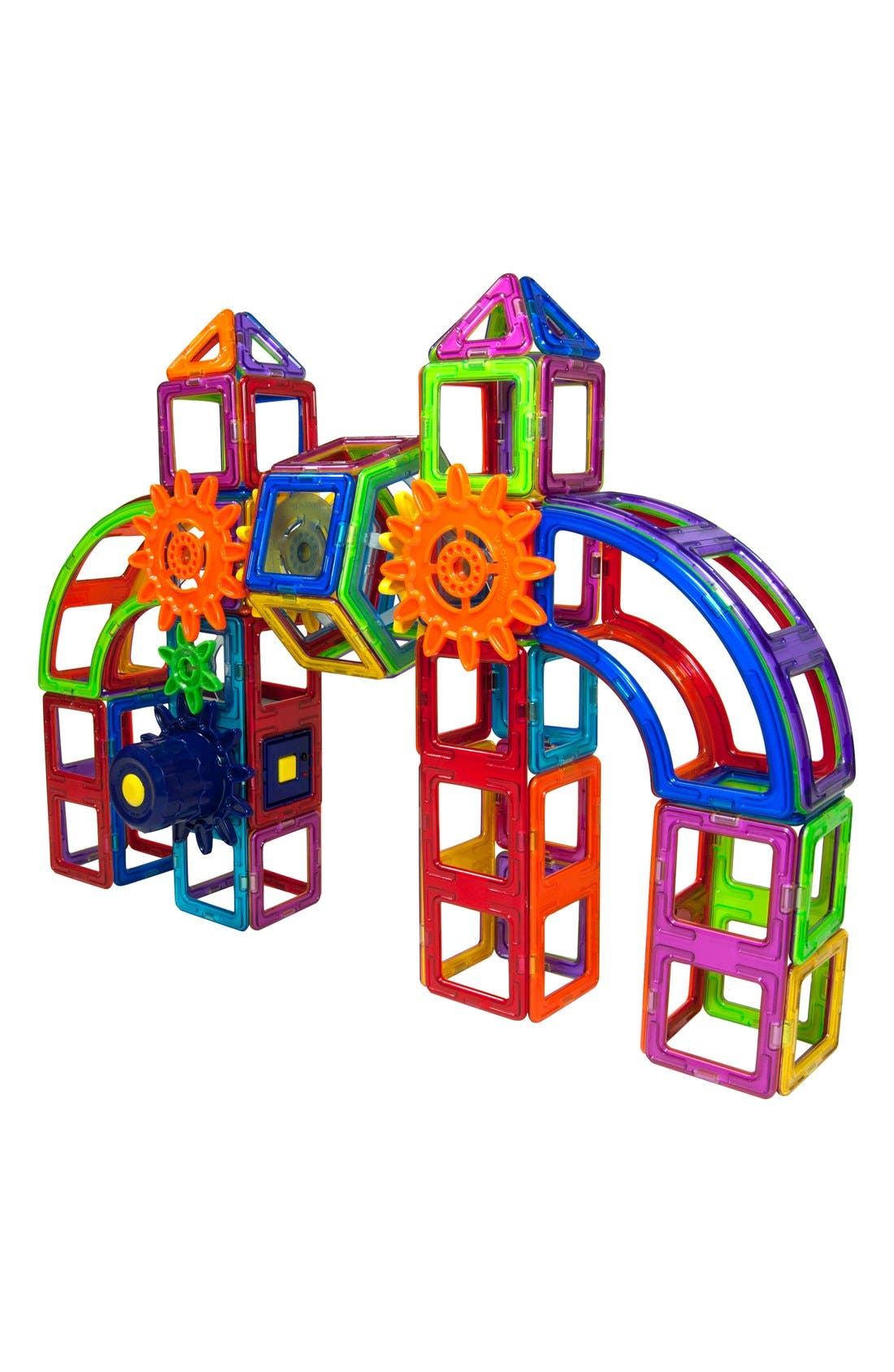 MAGFORMERS,                             'Magnets in Motion' Magnetic 3D Construction Set,                             Alternate thumbnail 3, color,                             MULTI