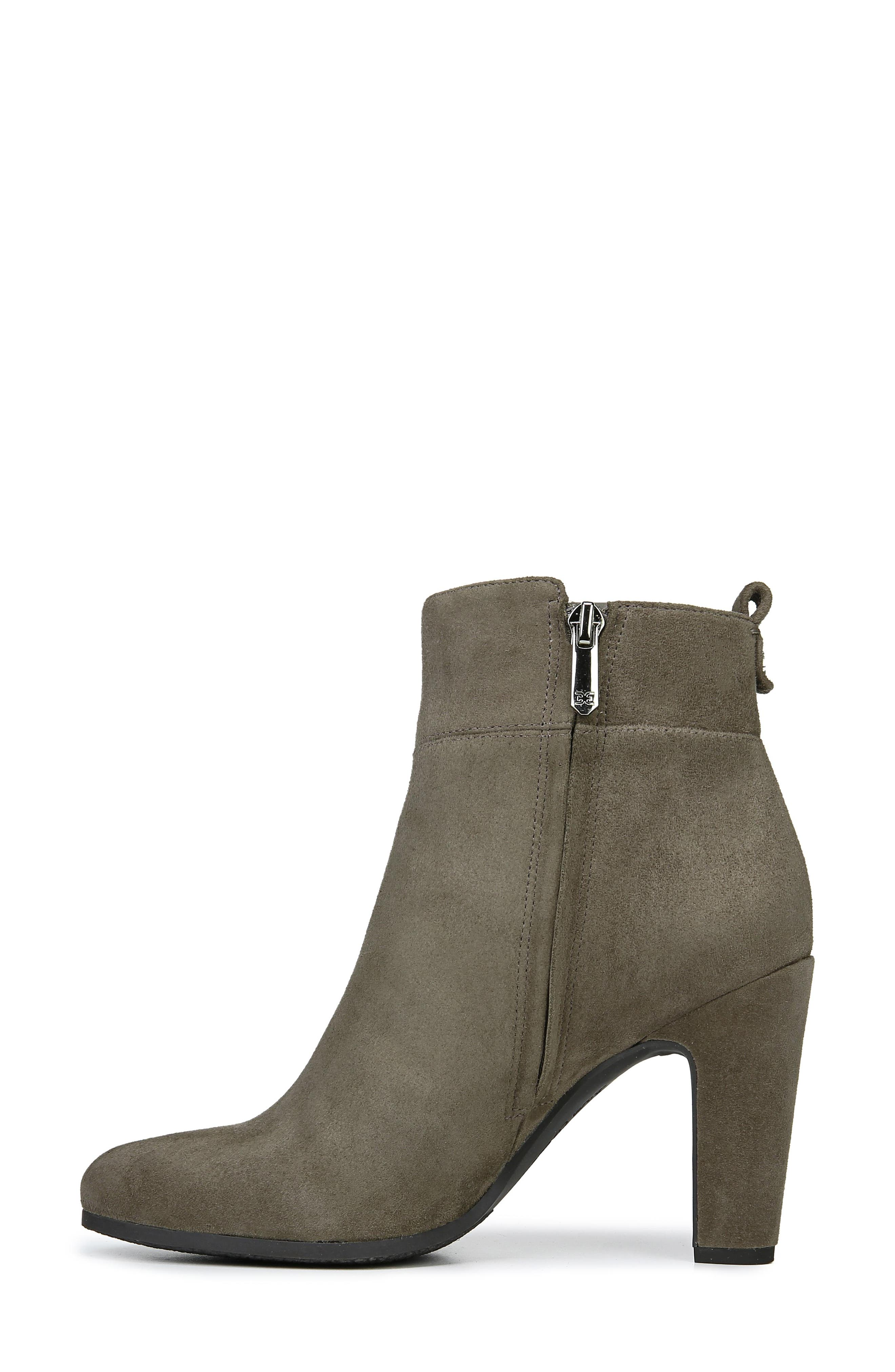 Sianna Bootie,                             Alternate thumbnail 9, color,                             FLINT GREY SUEDE