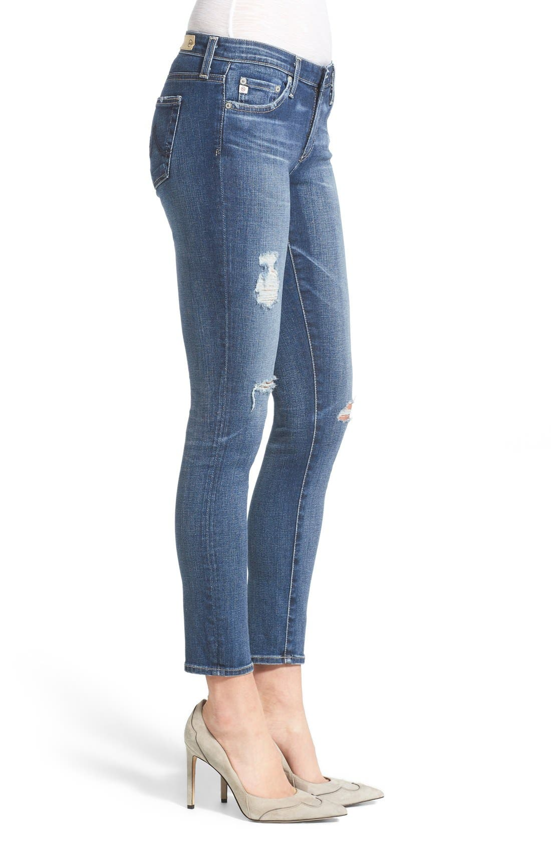 'The Legging' Ankle Jeans,                             Alternate thumbnail 3, color,                             11 YEAR SWAP MEET