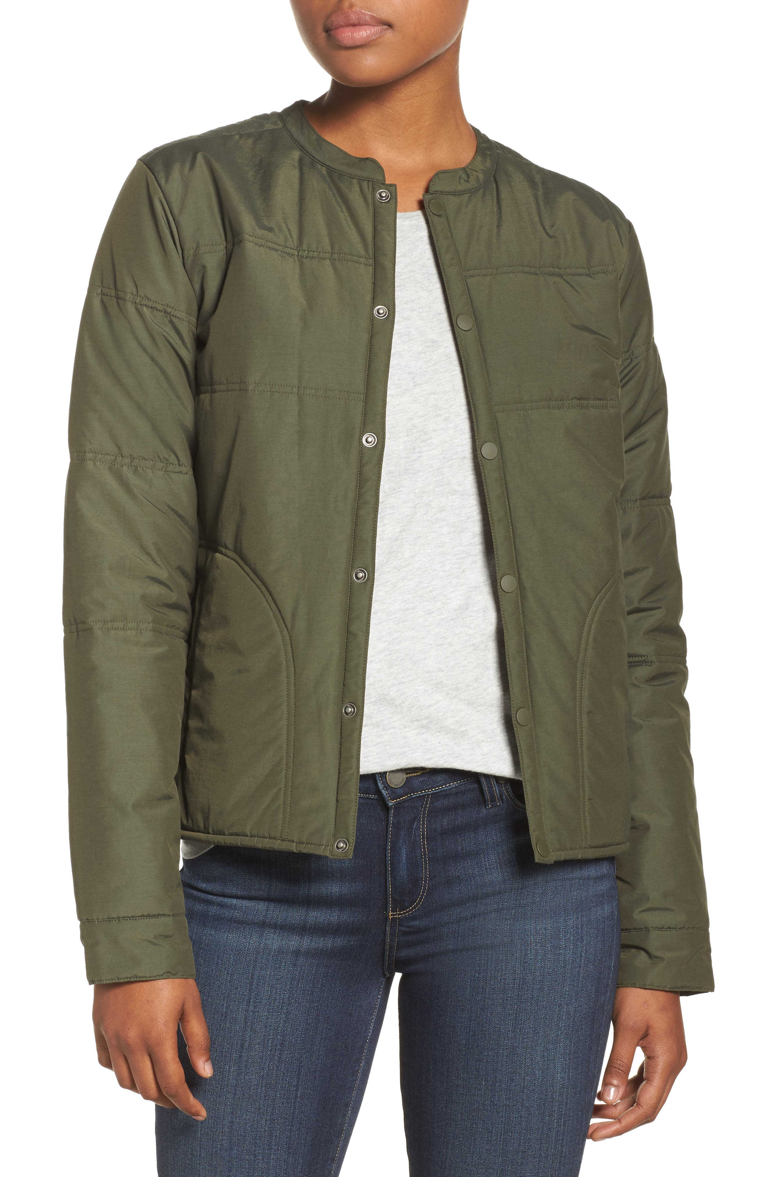 Arliss Insulator Jacket,                         Main,                         color, FOREST NIGHT