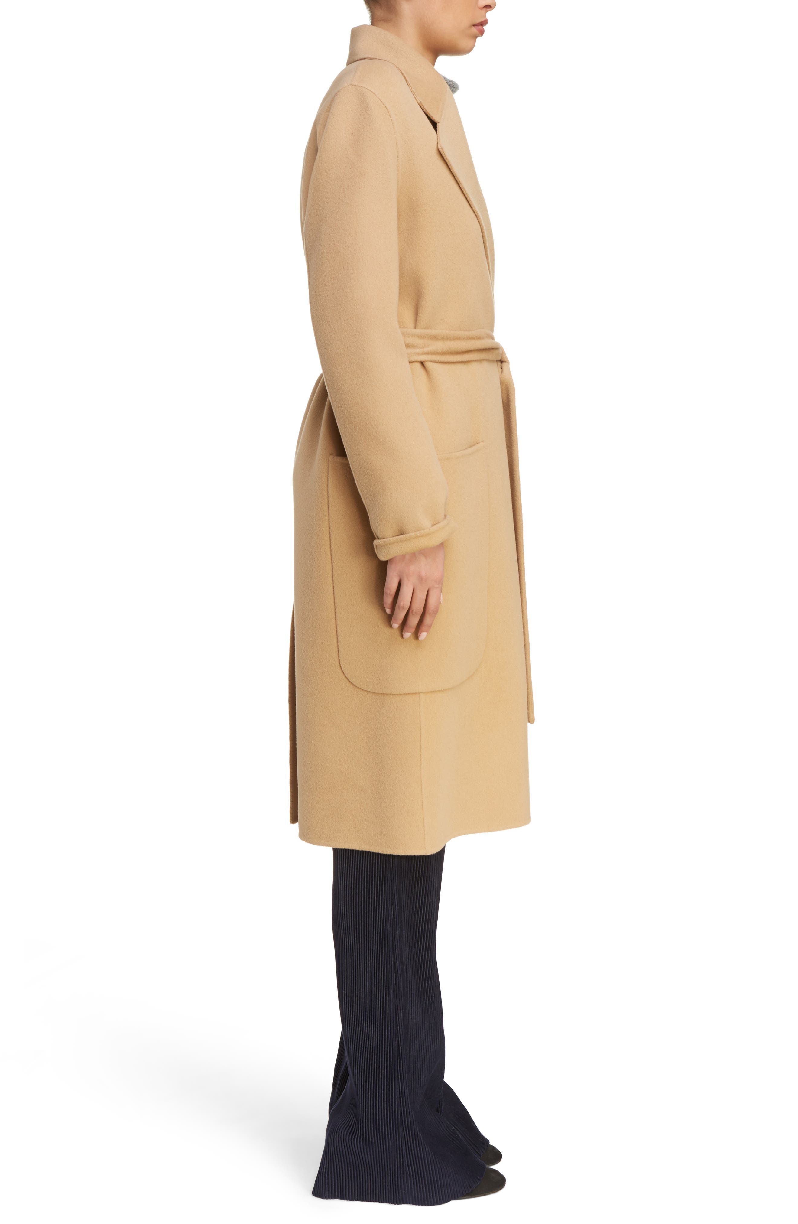 Carice Double Breasted Coat,                             Alternate thumbnail 3, color,                             250
