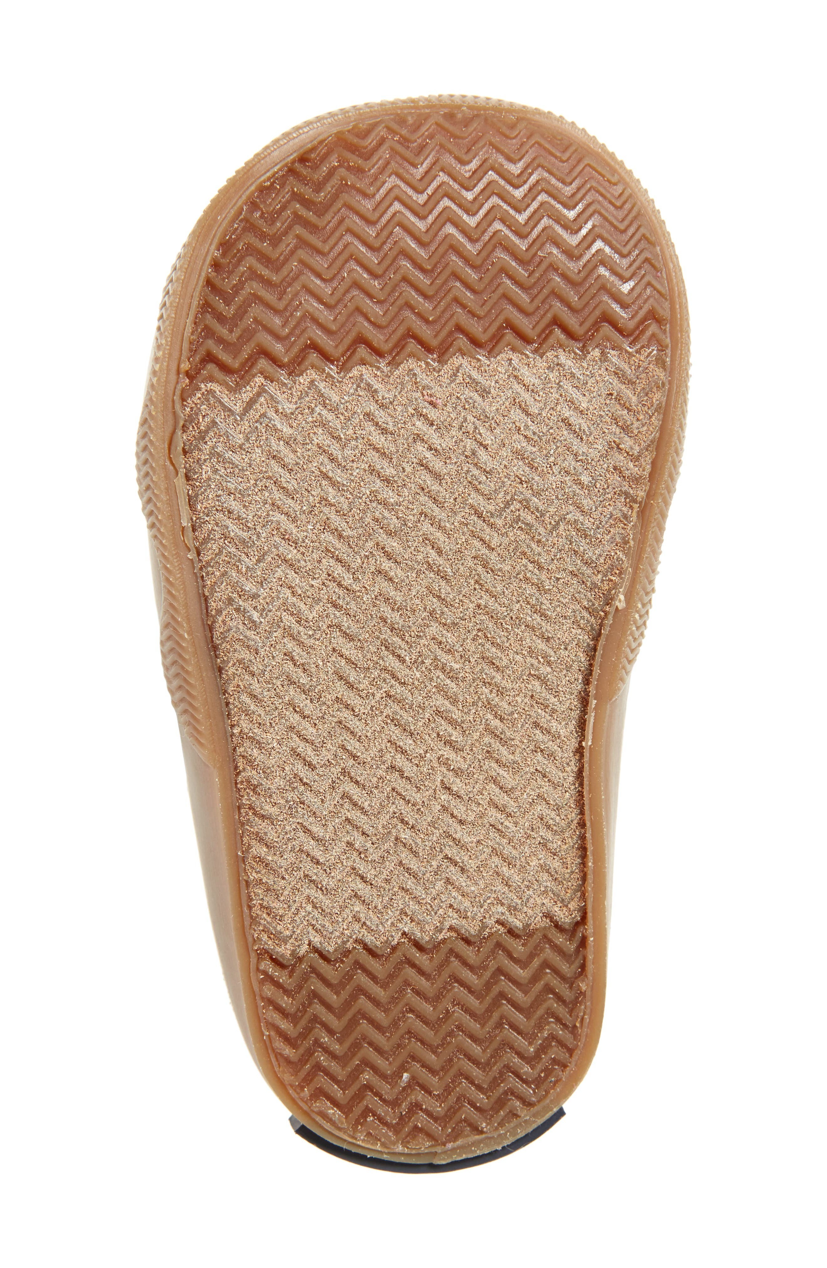Sperry Icestorm Crib Duck Bootie,                             Alternate thumbnail 6, color,                             TAN/ BROWN