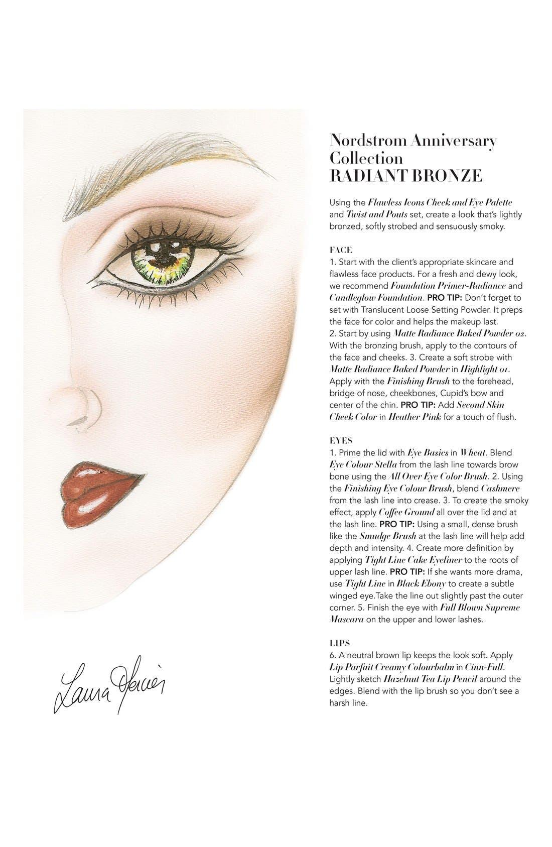 'Flawless Icons' Eye & Cheek Palette,                             Alternate thumbnail 4, color,                             000