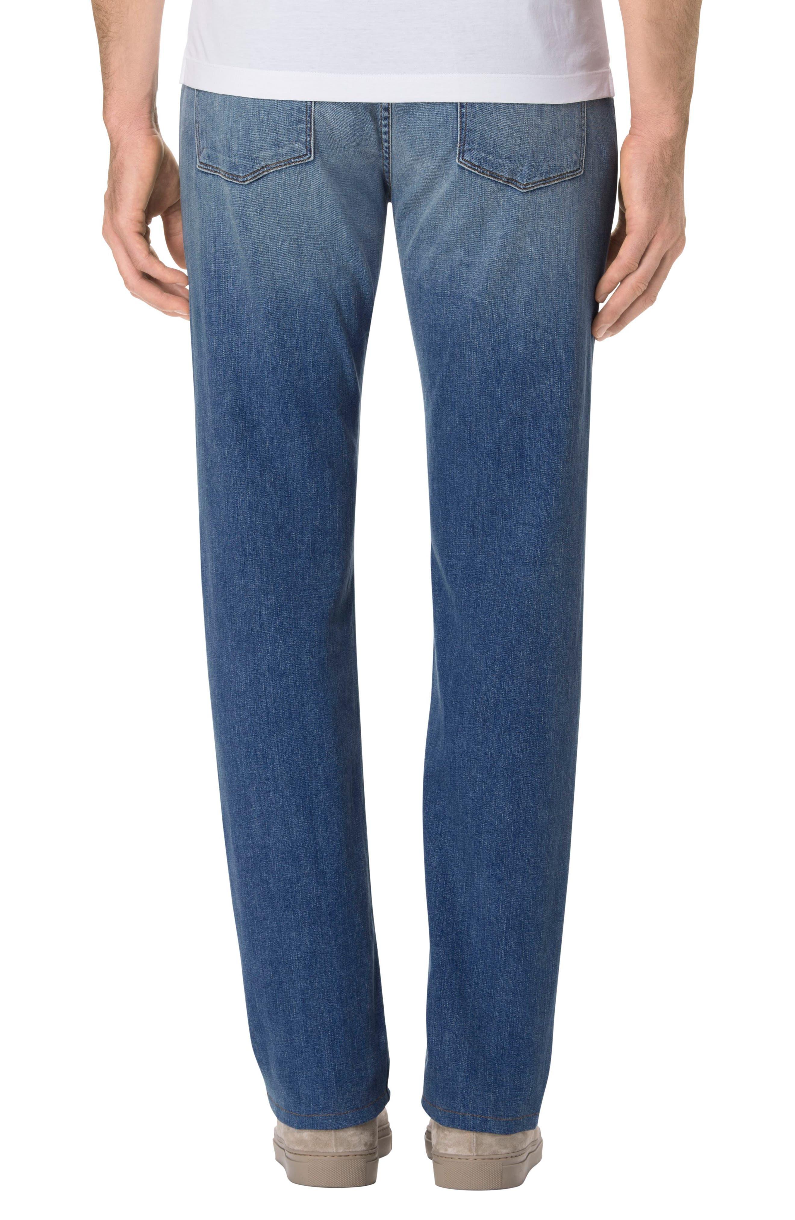 Kane Slim Straight Fit Jeans,                             Alternate thumbnail 2, color,                             452