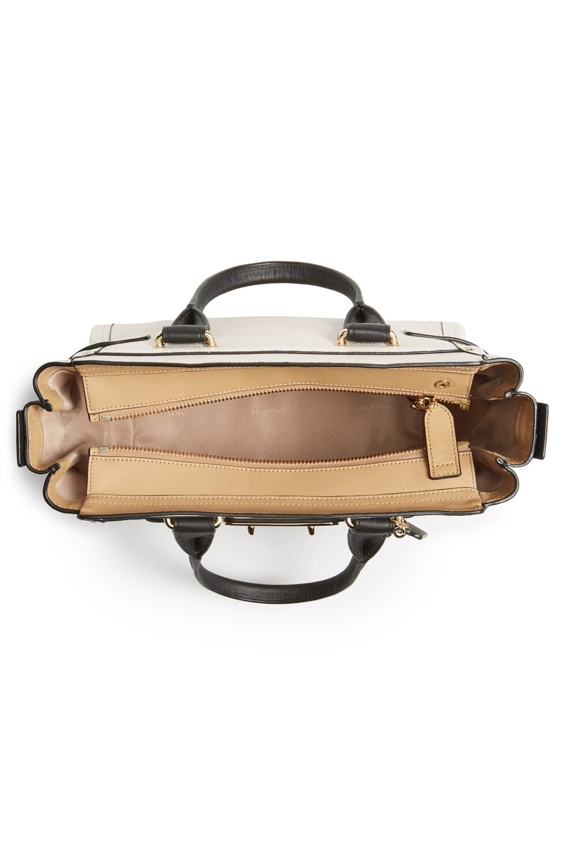 'Swagger 35' Colorblock Leather Satchel,                             Alternate thumbnail 2, color,                             178