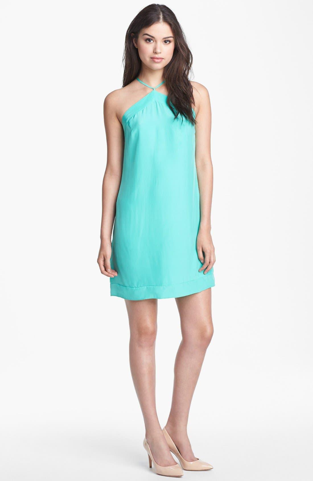 ALICE & TRIXIE 'Silvie' Silk Dress, Main, color, 330