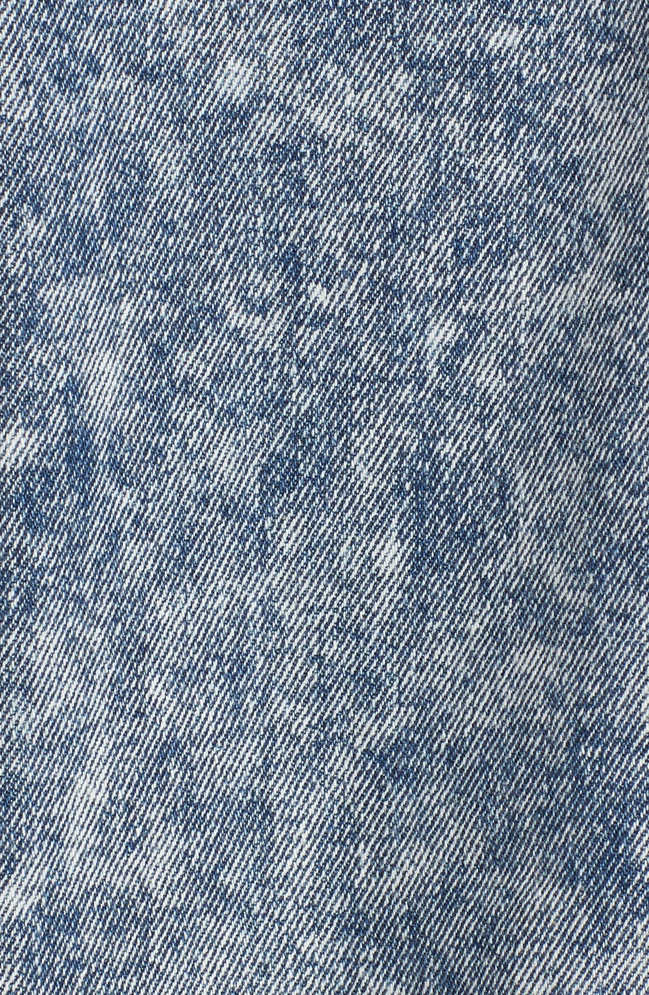 Unionbay Acid Wash Denim Jacket,                             Alternate thumbnail 7, color,                             427