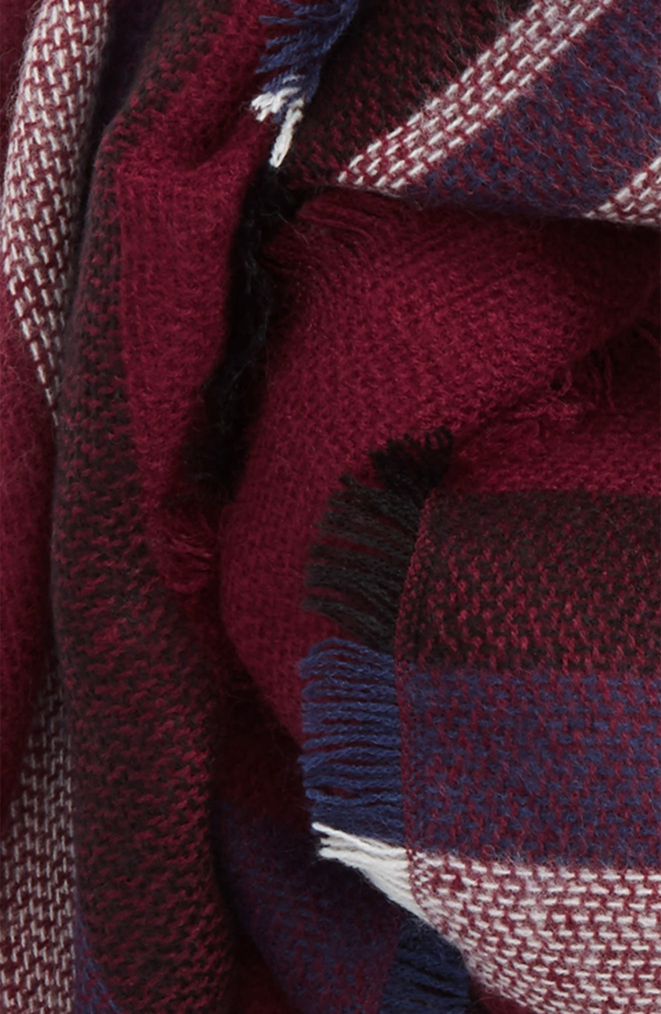Accessory Collective Stripe Scarf,                             Alternate thumbnail 3, color,                             600