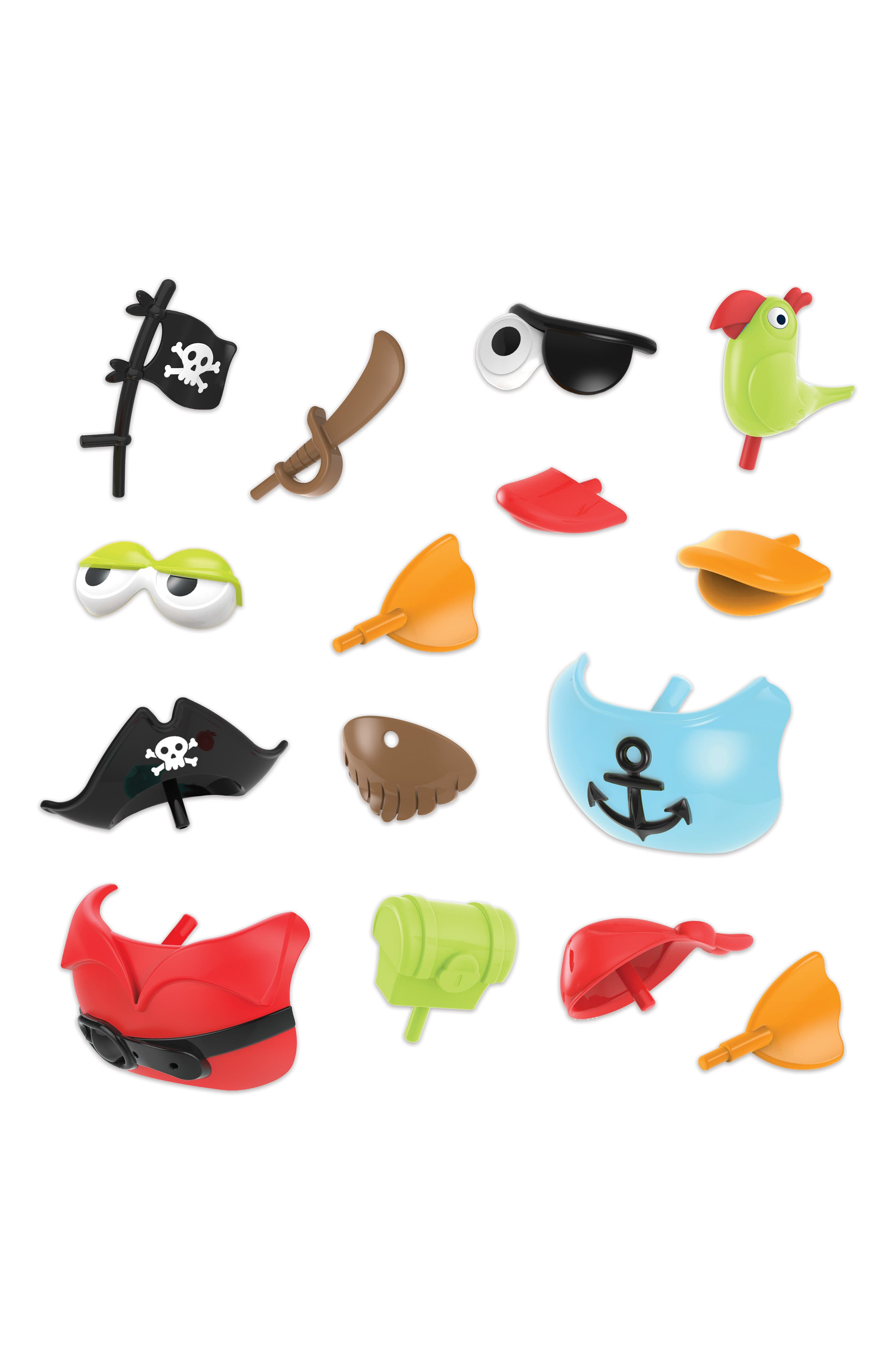 Jet Duck<sup>™</sup> Create a Pirate Bath Toy Kit,                             Alternate thumbnail 2, color,                             YELLOW