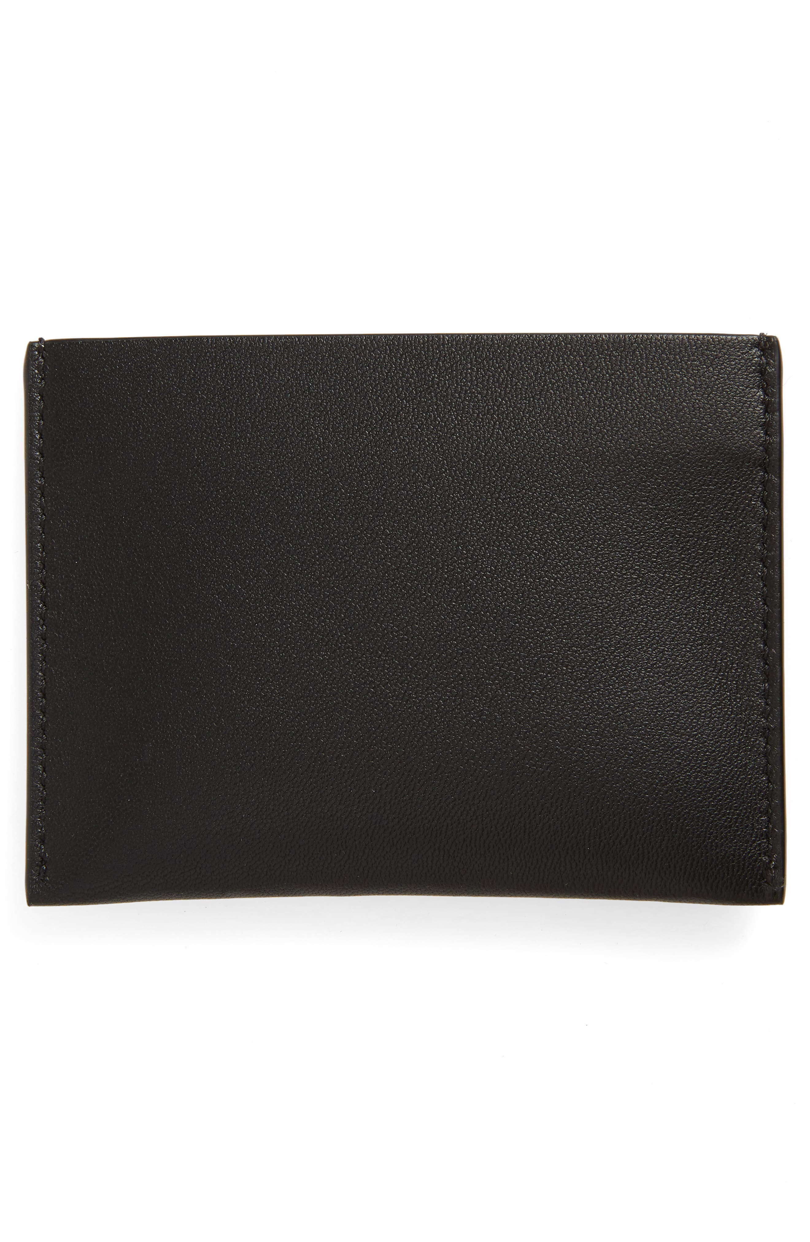 4G Leather Card Holder,                             Alternate thumbnail 2, color,                             006