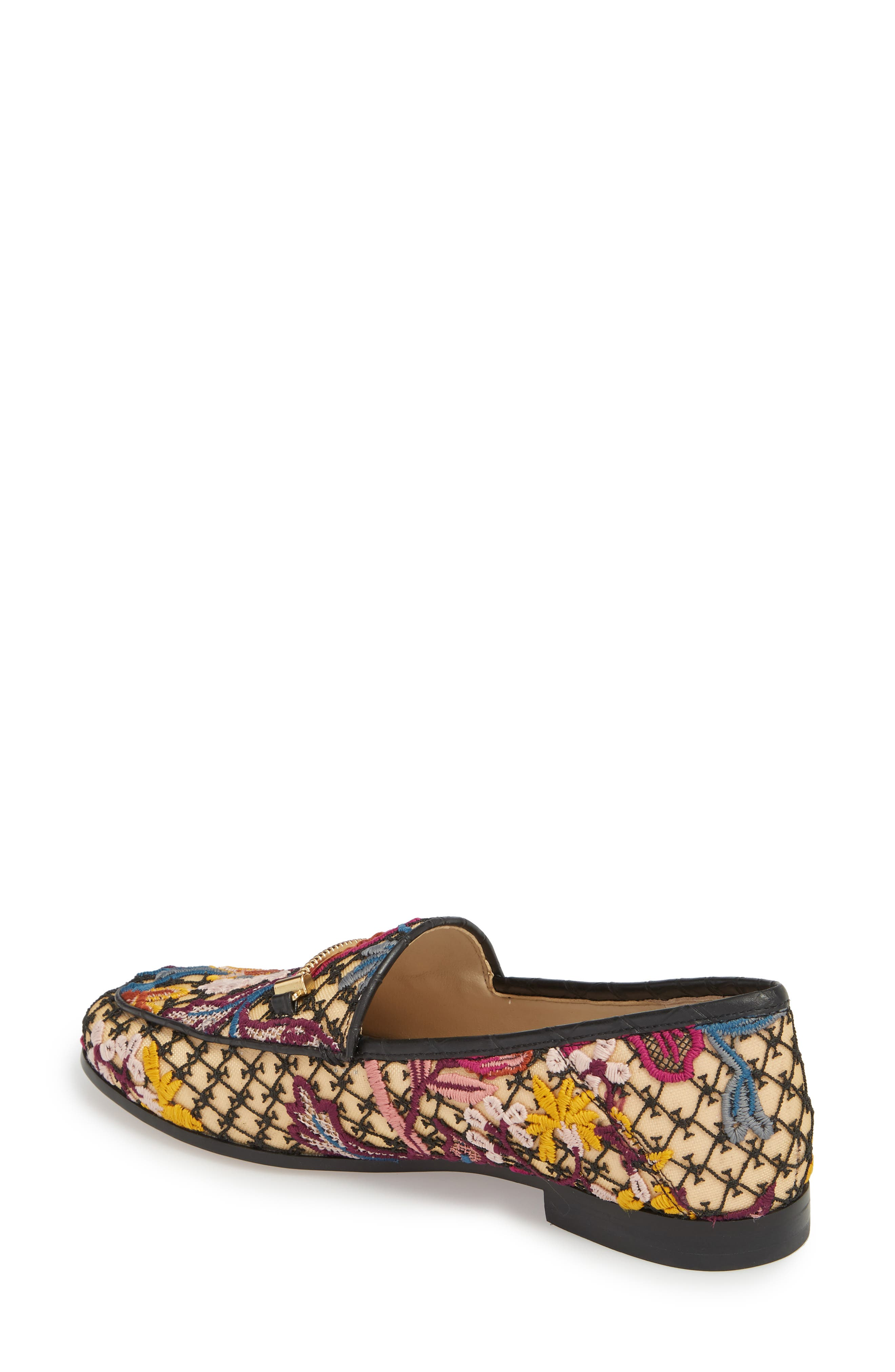 Lior Loafer,                             Alternate thumbnail 2, color,                             BRIGHT MULTI FLORAL LACE