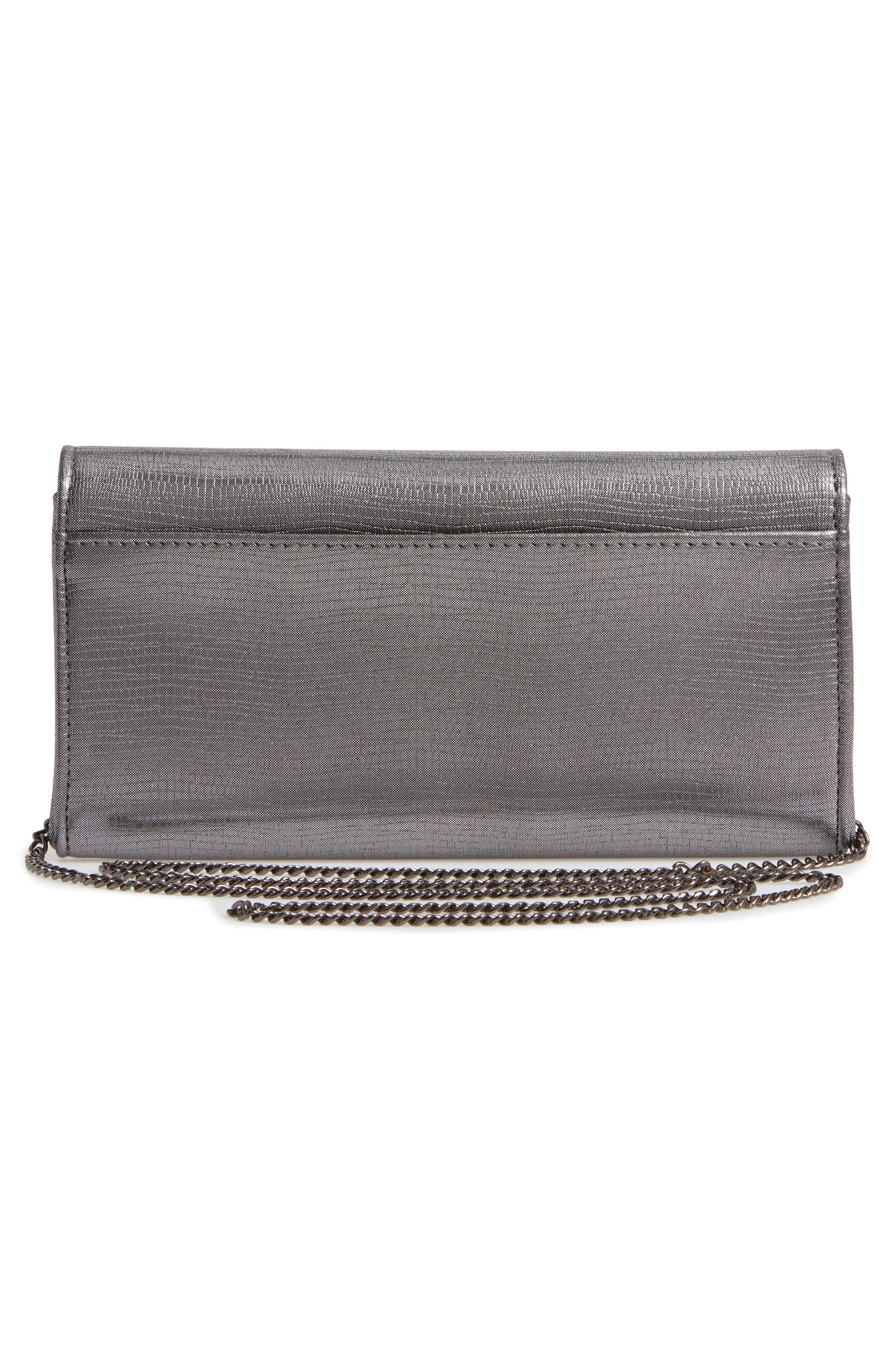 Sparkle Bar Clutch,                             Alternate thumbnail 3, color,                             042