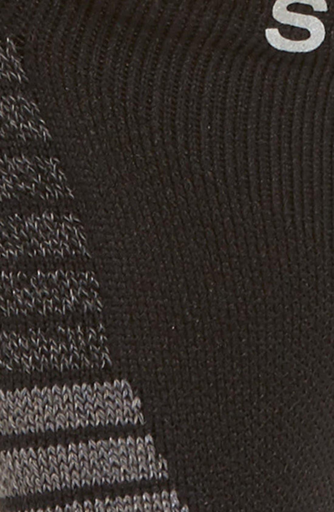 Reflective Sweat Socks,                             Alternate thumbnail 4, color,                             001