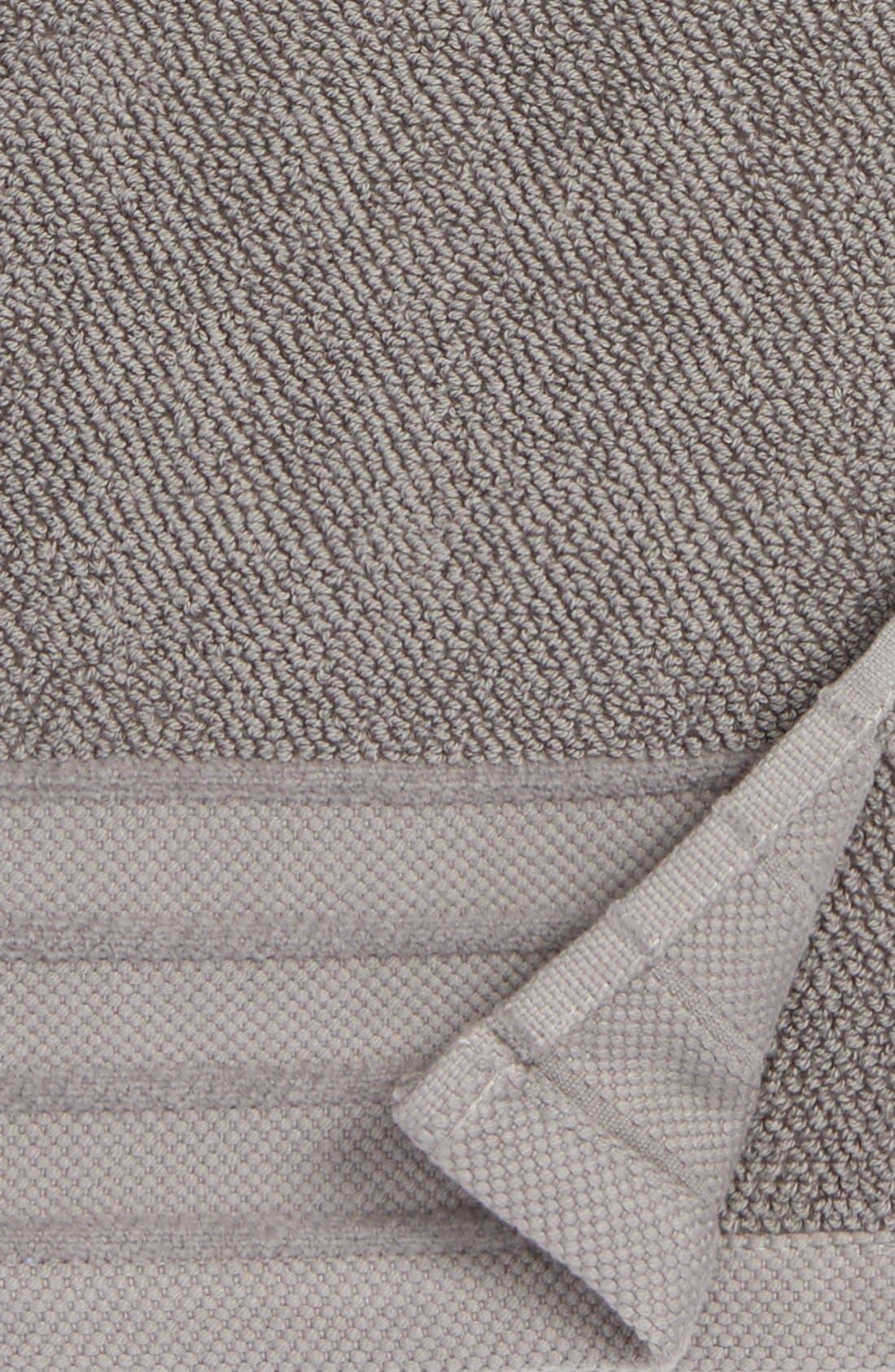Classic Luxe Hand Towel,                             Alternate thumbnail 3, color,                             GRANITE