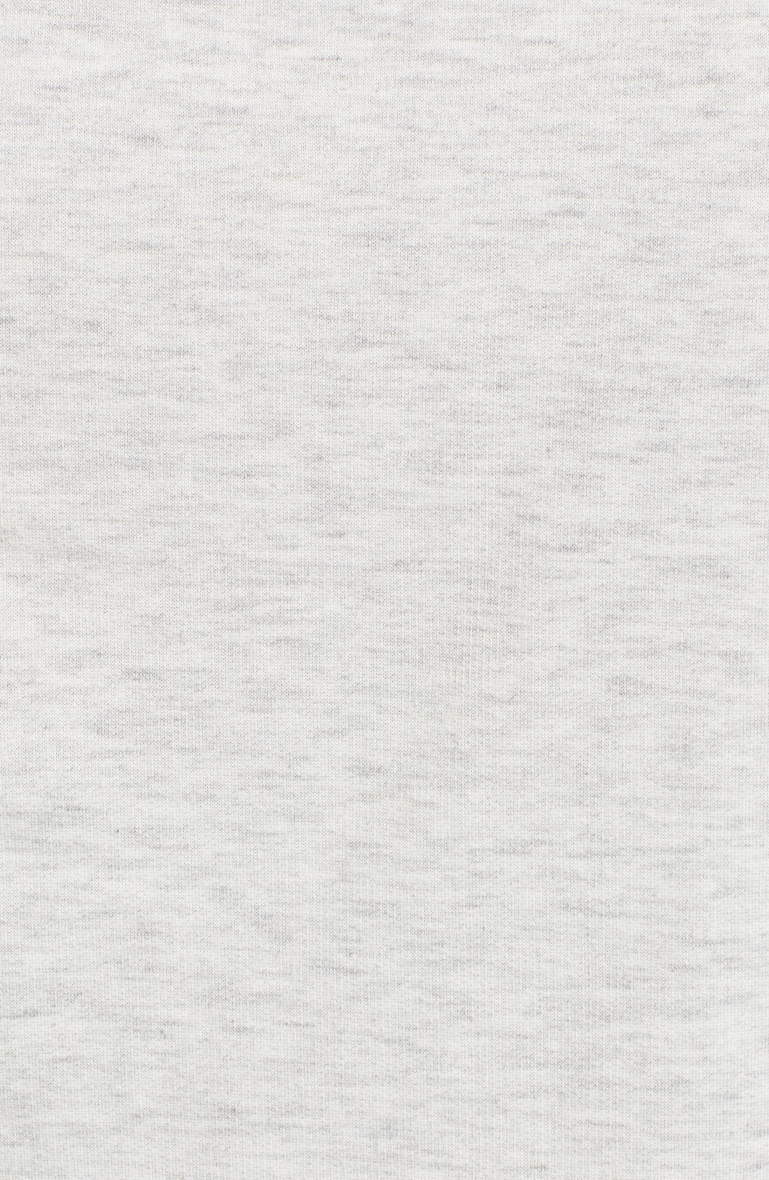 Ruffle Sleeve Sweatshirt,                             Alternate thumbnail 17, color,