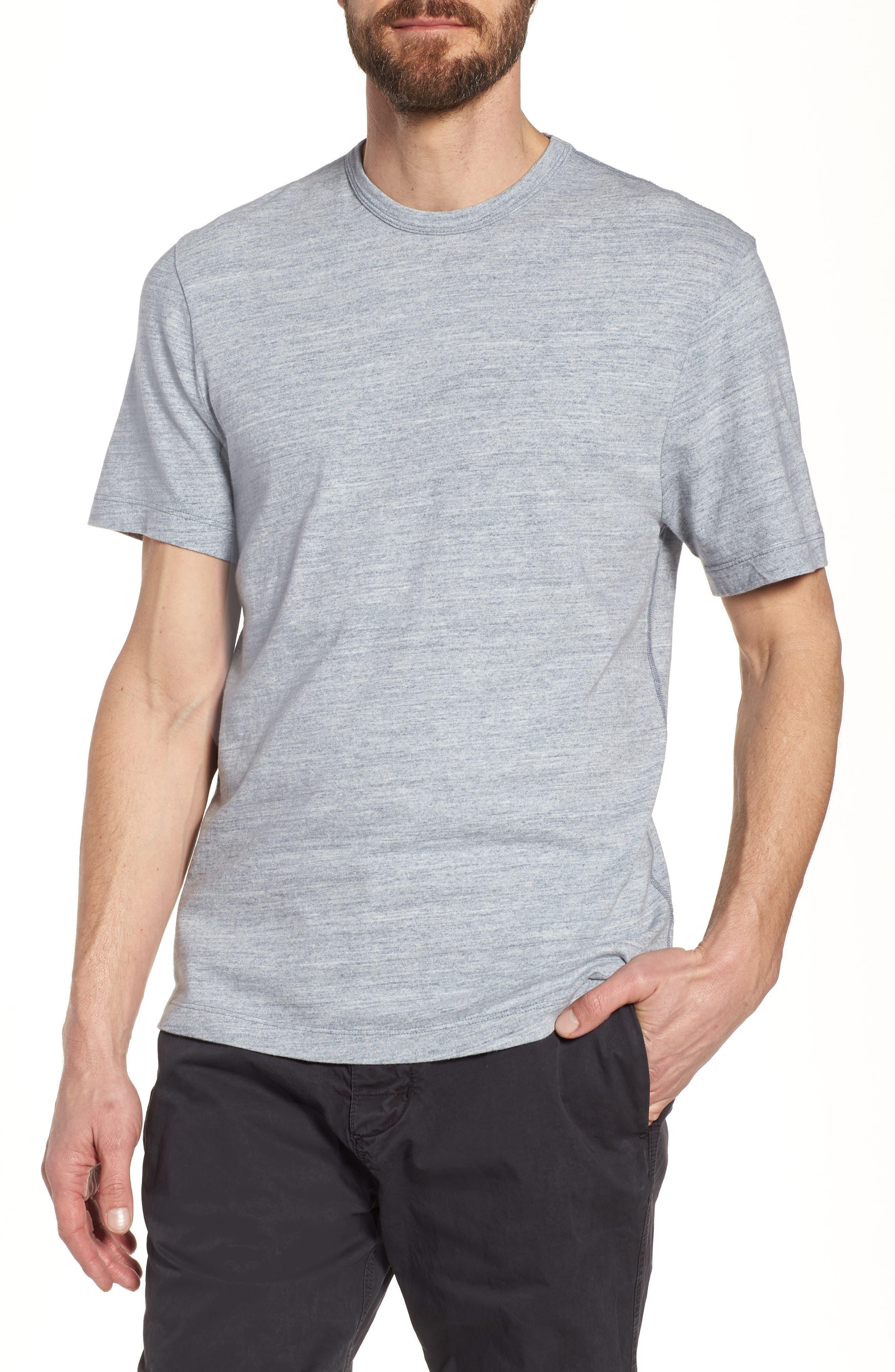 Regular Fit Top Dyed Crewneck T-Shirt,                             Main thumbnail 2, color,
