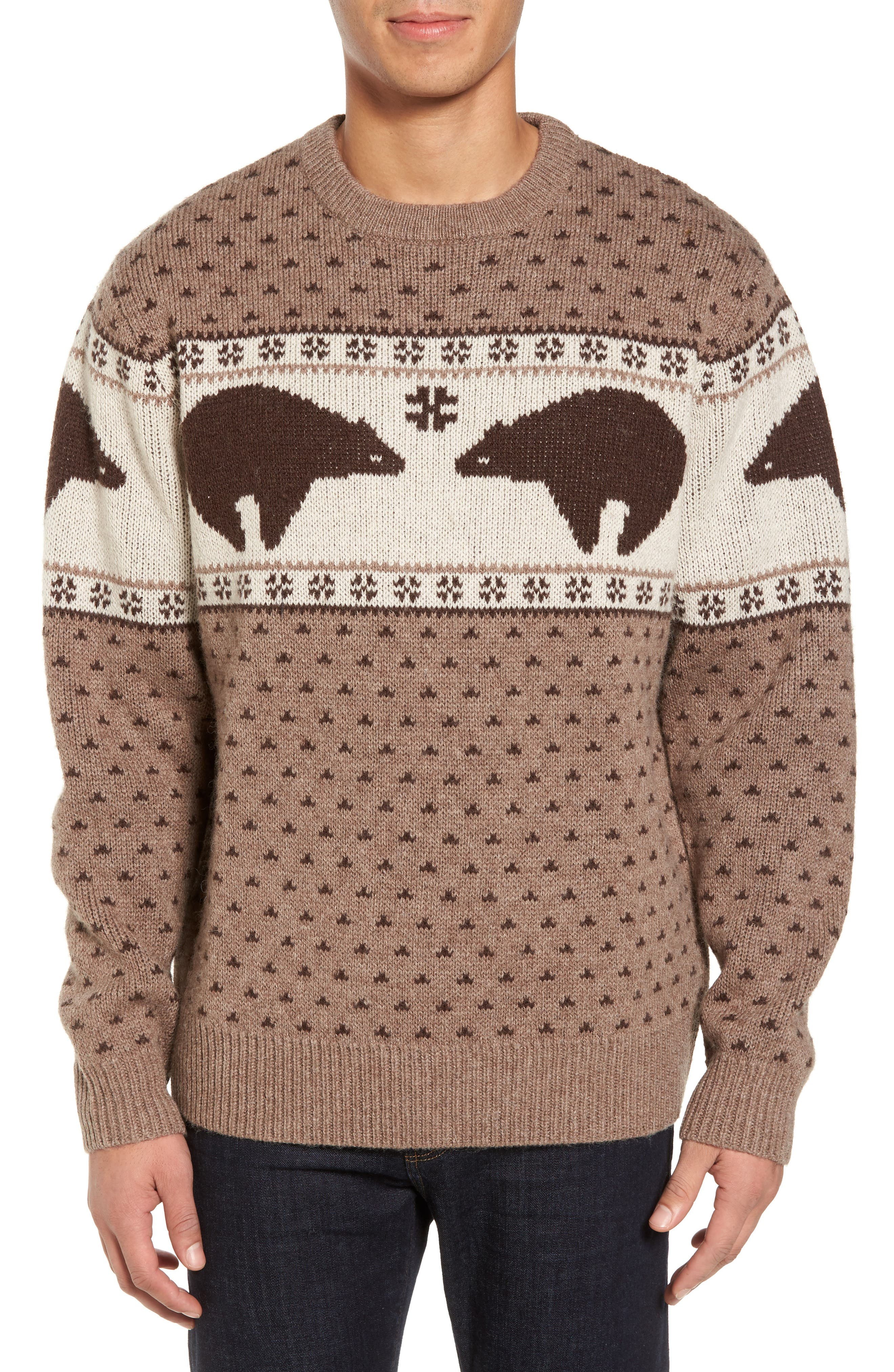 Bear Sweater,                             Main thumbnail 1, color,                             250