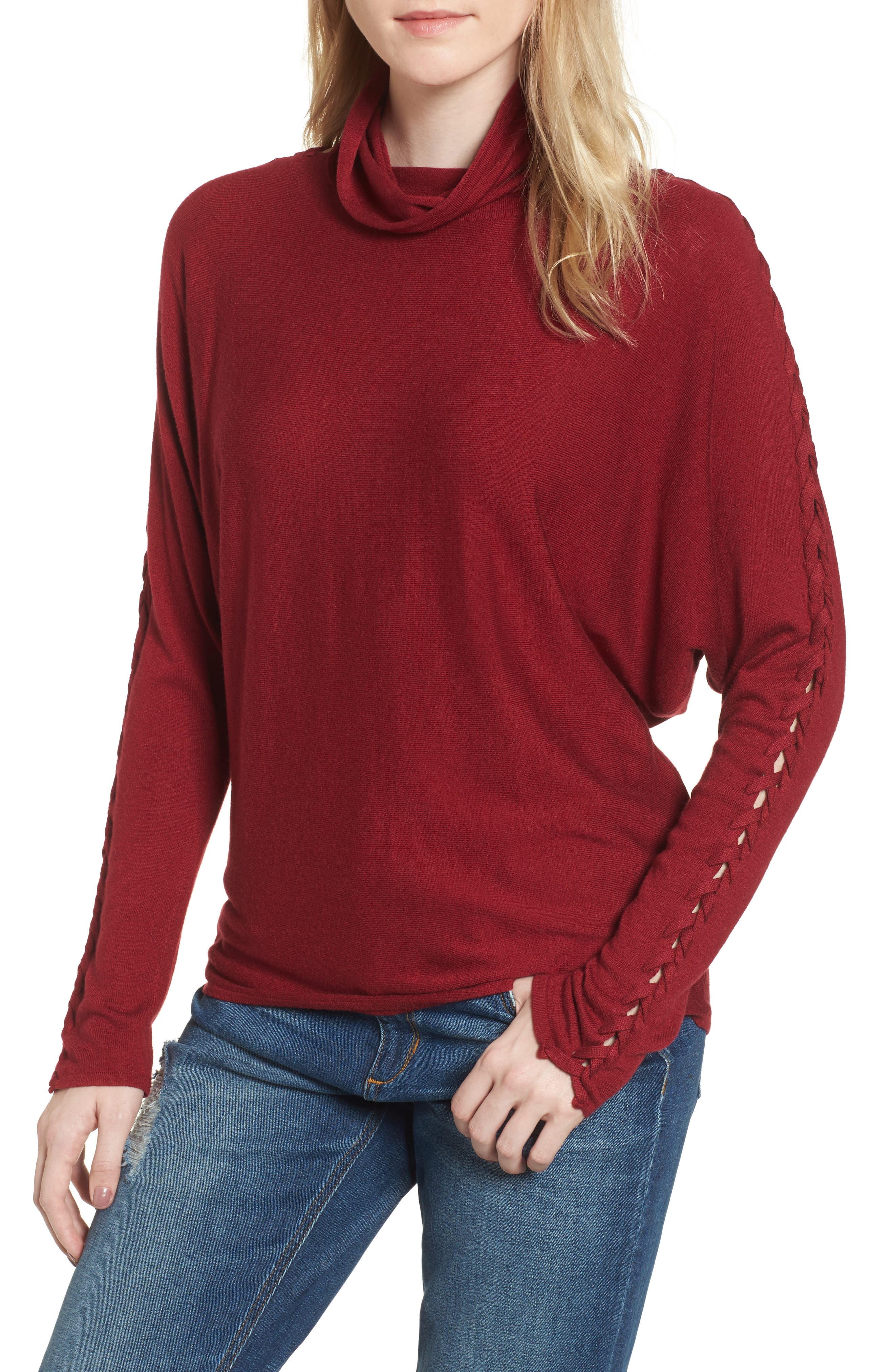 Victoire Turtleneck Sweater,                             Main thumbnail 2, color,