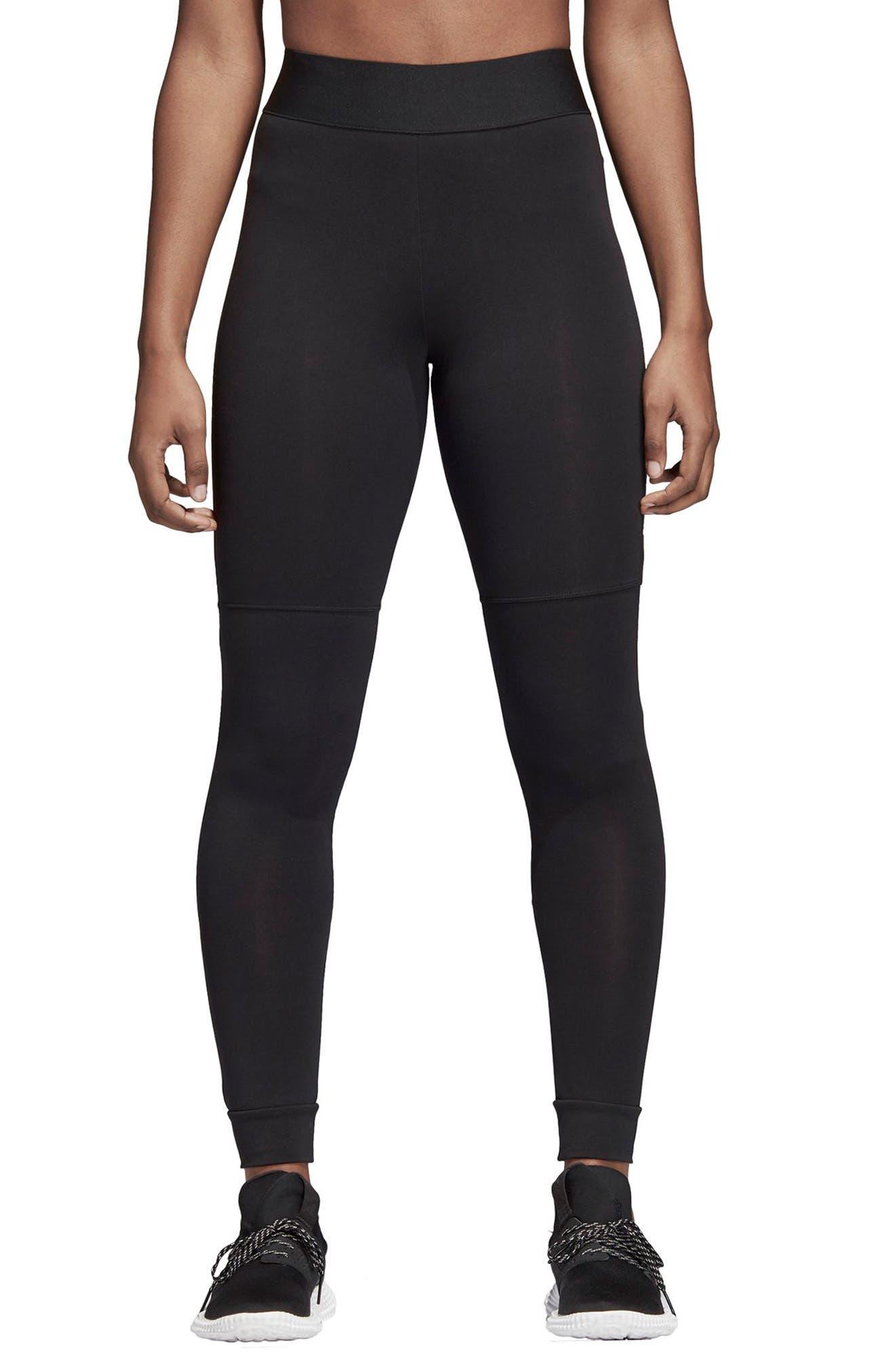 7/8 Leggings,                         Main,                         color, BLACK